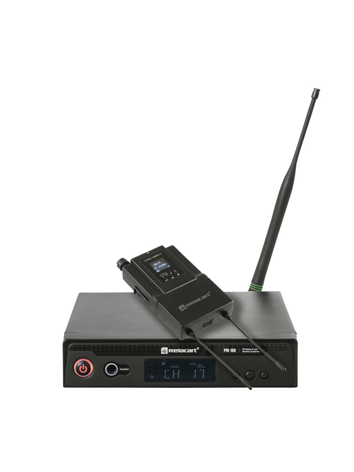 RELACART PM-160 Diversity In-Ear-Monitor System