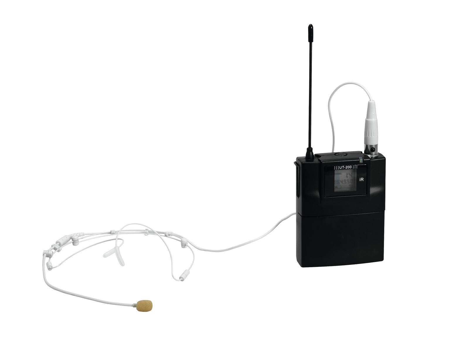 RELACART UT-200 Bodypack con HM-800 Auricolare