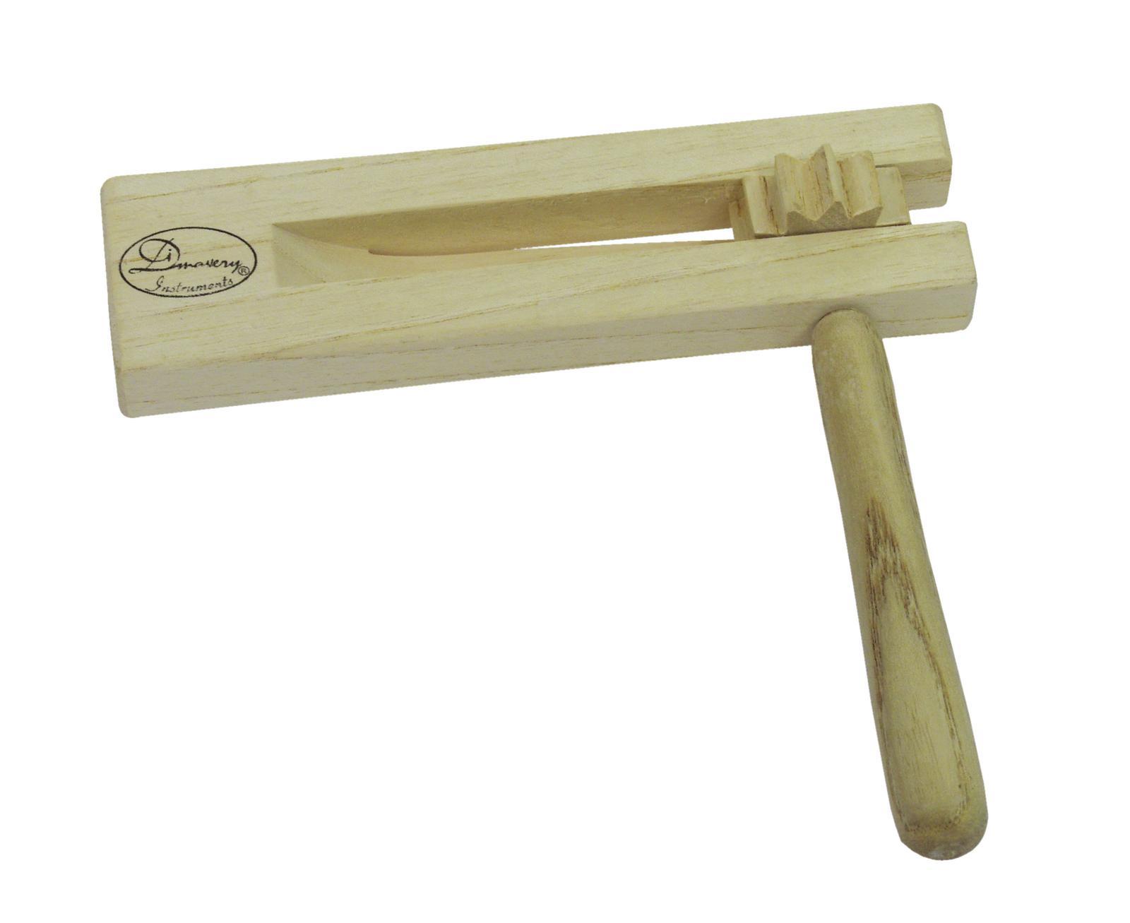 Cricchetto, ratchet, strumenti musicali, legno, DIMAVERY