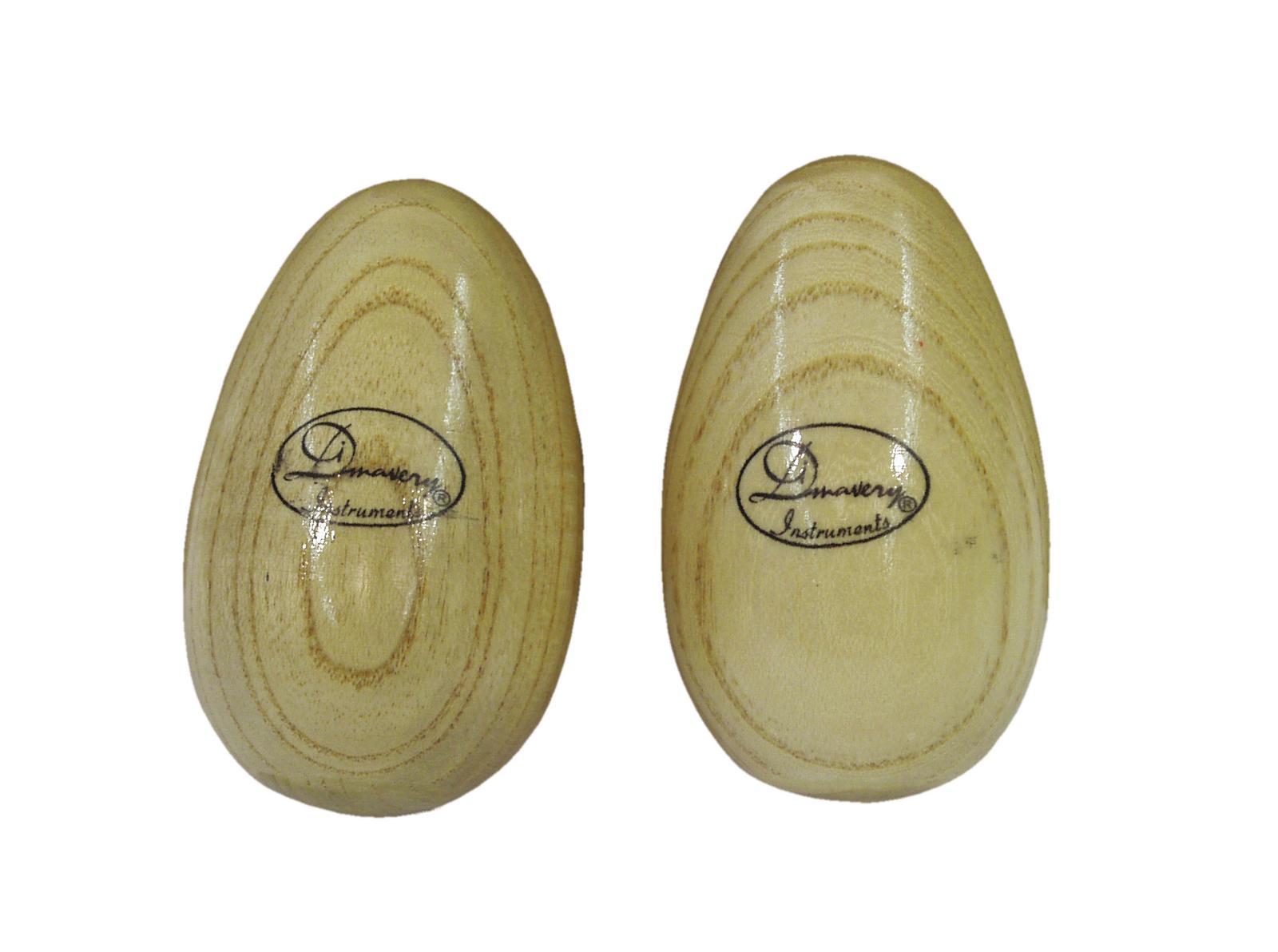 DIMAVERY Egg Shaker Holz 2x