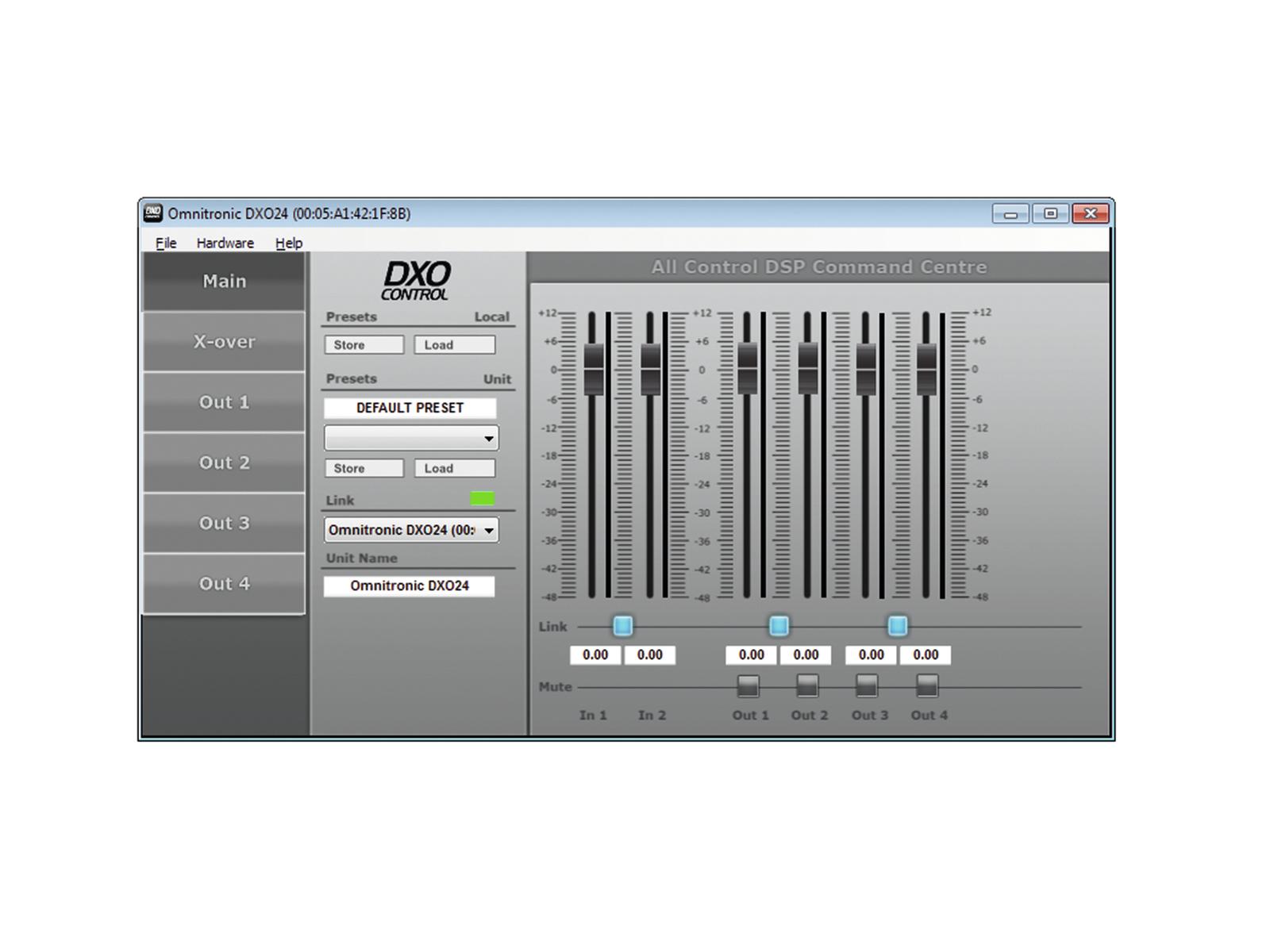 OMNITRONIC DXO-24E controller Digitale
