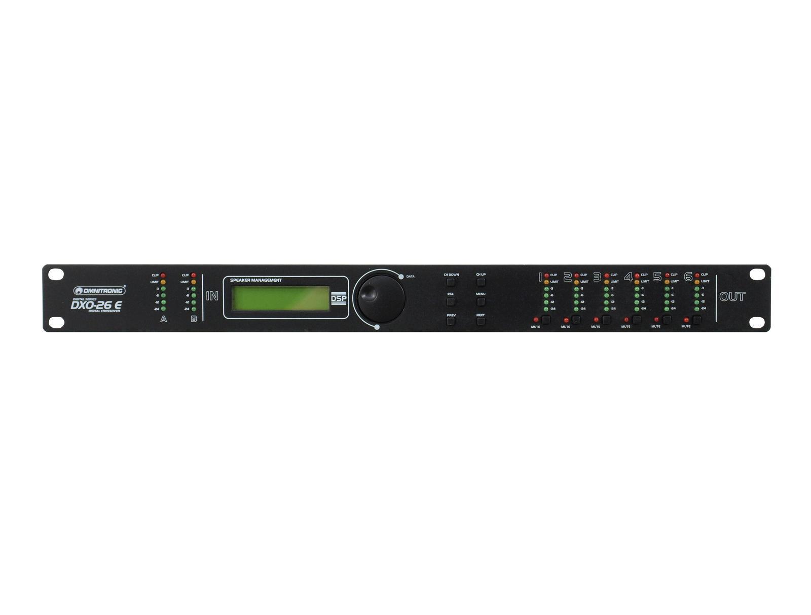 OMNITRONIC DXO-26E Digitaler Controller