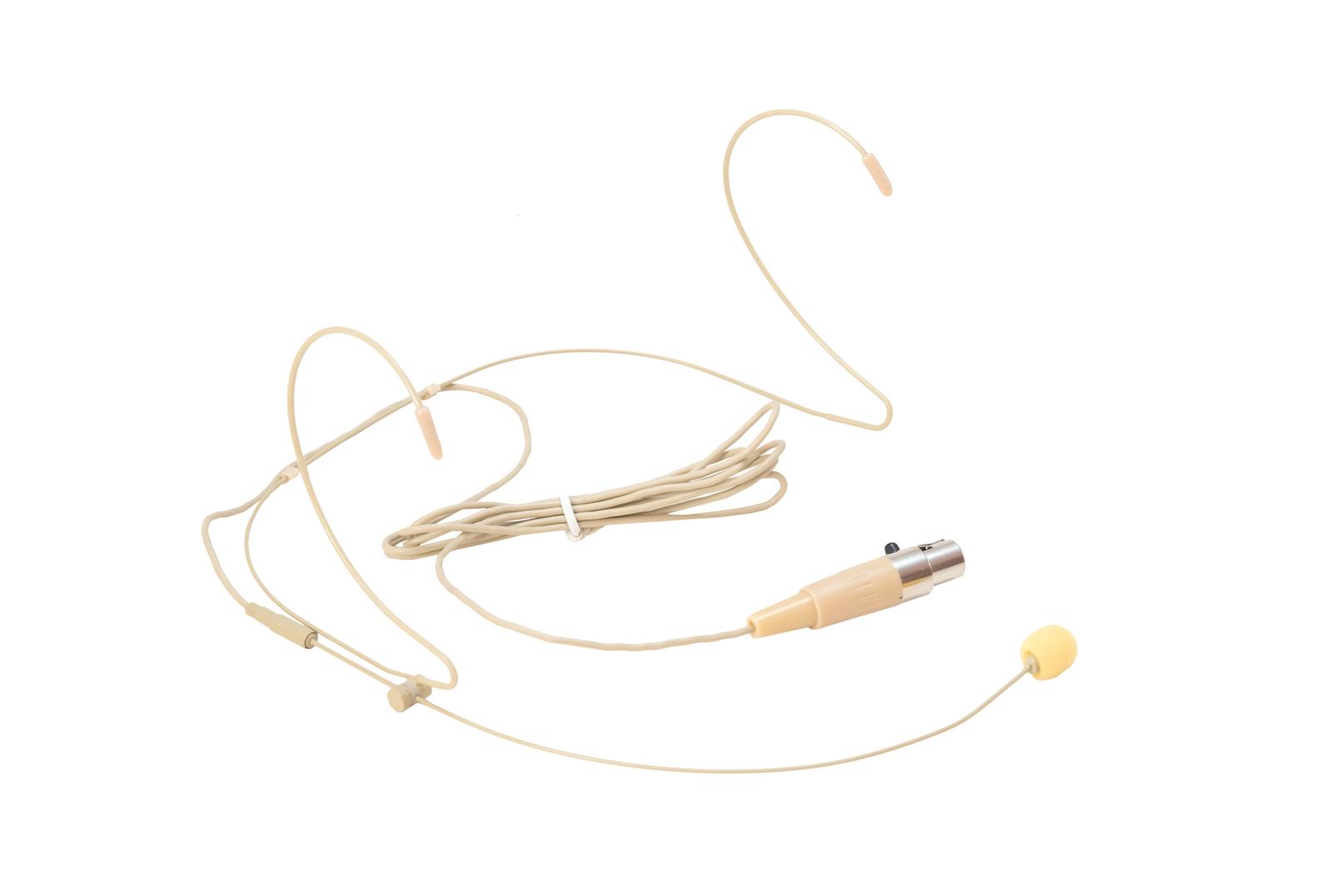 Microfono ad archetto color carne pelle OMNITRONIC HS-1100