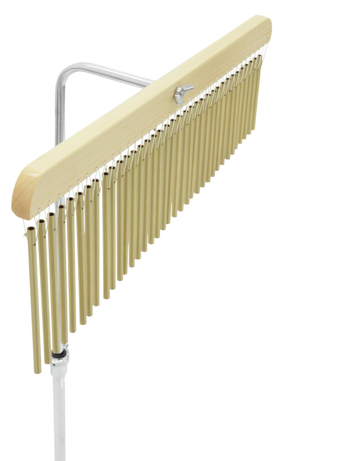Carillon, 36 bar, con supporto sostegno, in legno, unica fila, DIMAVERY DH-36