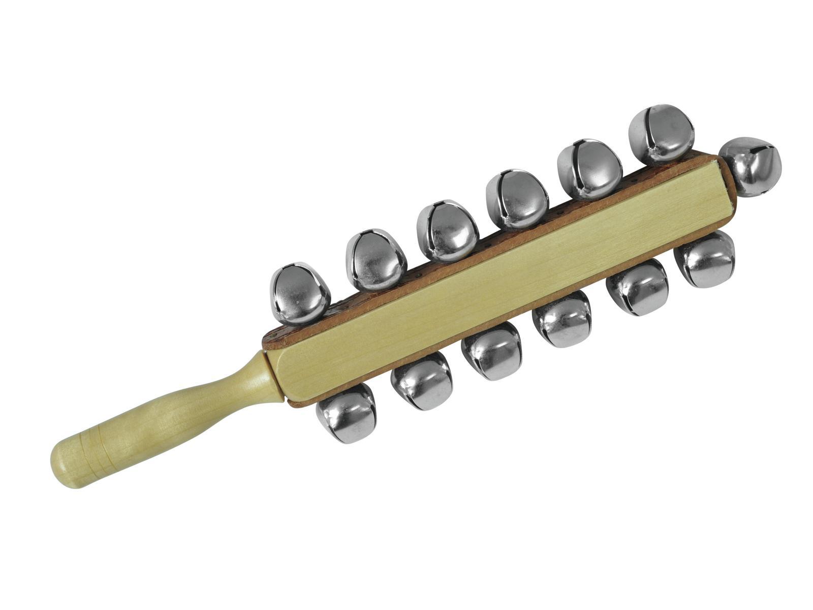 Sleigh bells, strumenti a sonagli 13 campane, in legno, DIMAVERY