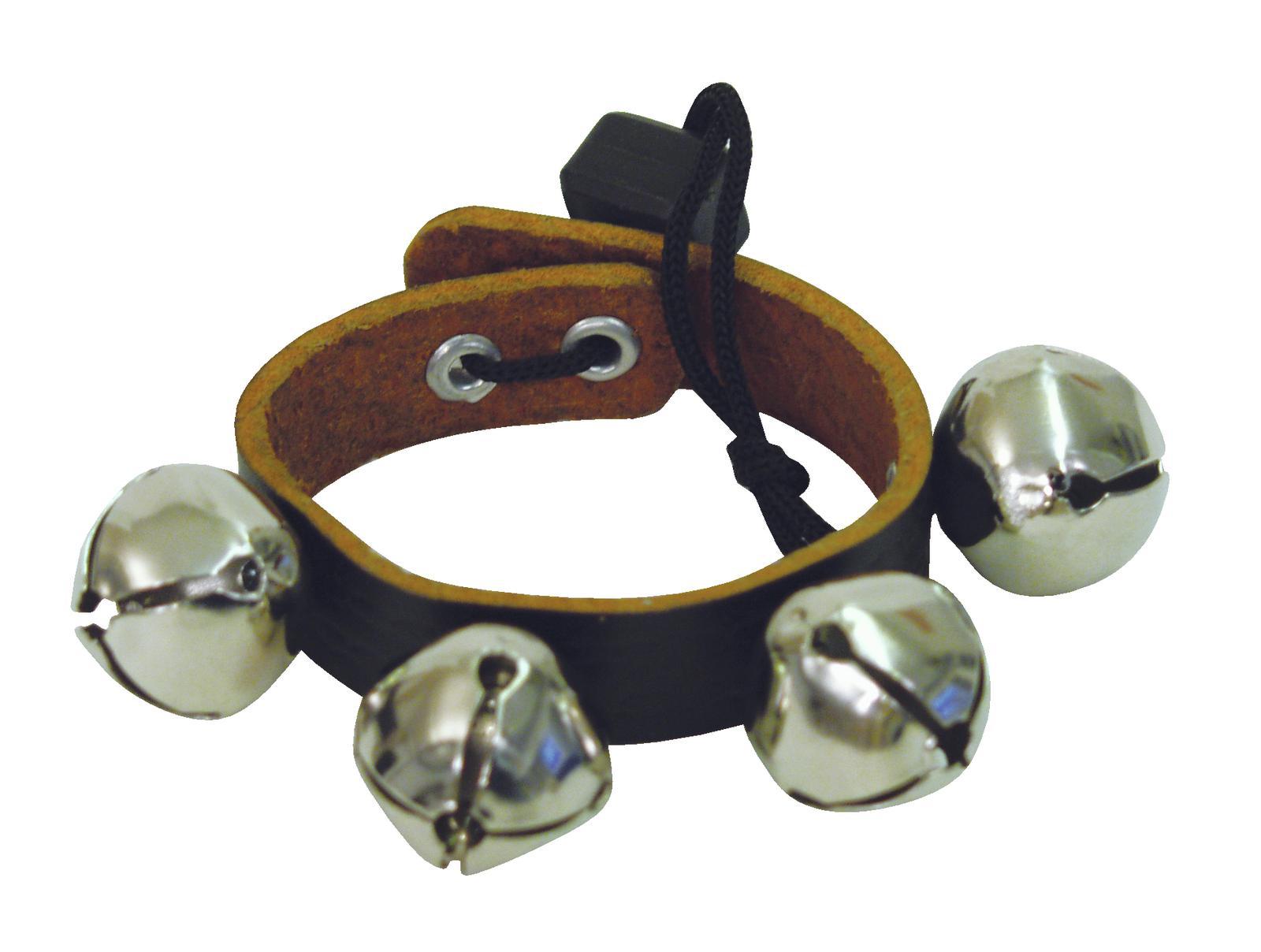 Jingel band, bracciale, 4 campane, 18 cm DIMAVERY