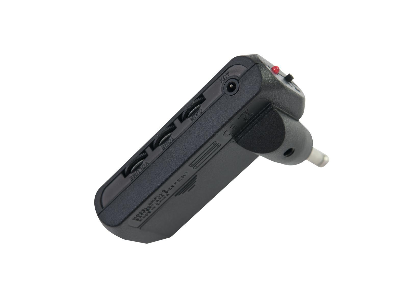 Mini amplificatore per cuffia per chitarre con distorsore MP3 DIMAVERY