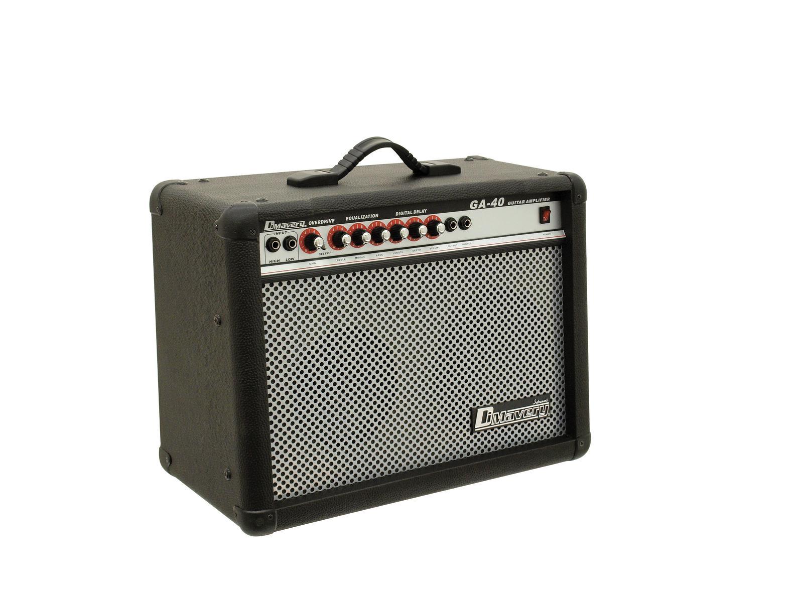 DIMAVERY GA-40R E-Gitarren-Amp 40W