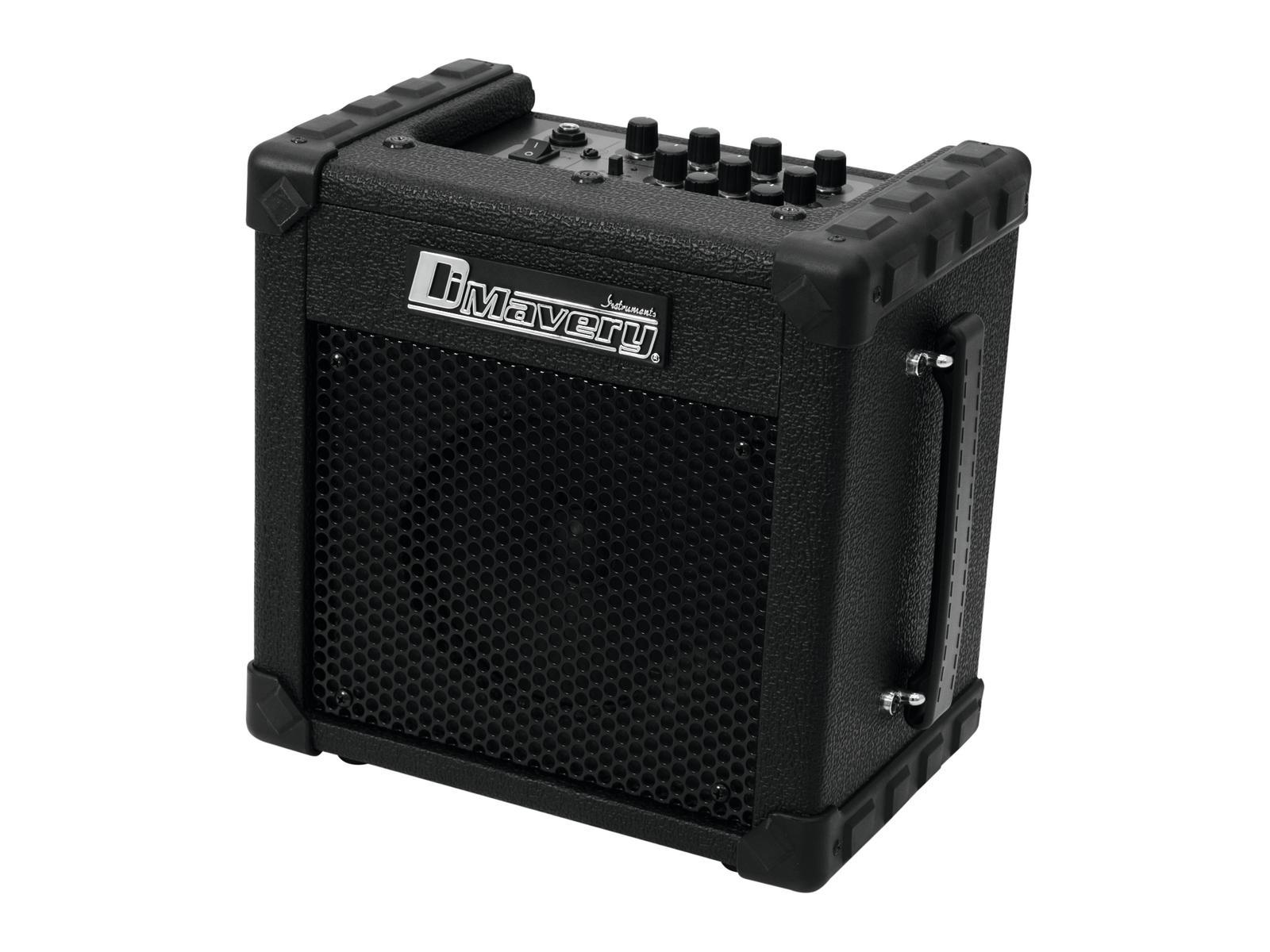 Amplificatore per chitarra Nero 20w woofer 16.5 cm 6.5 DIMAVERY Deluxe-1