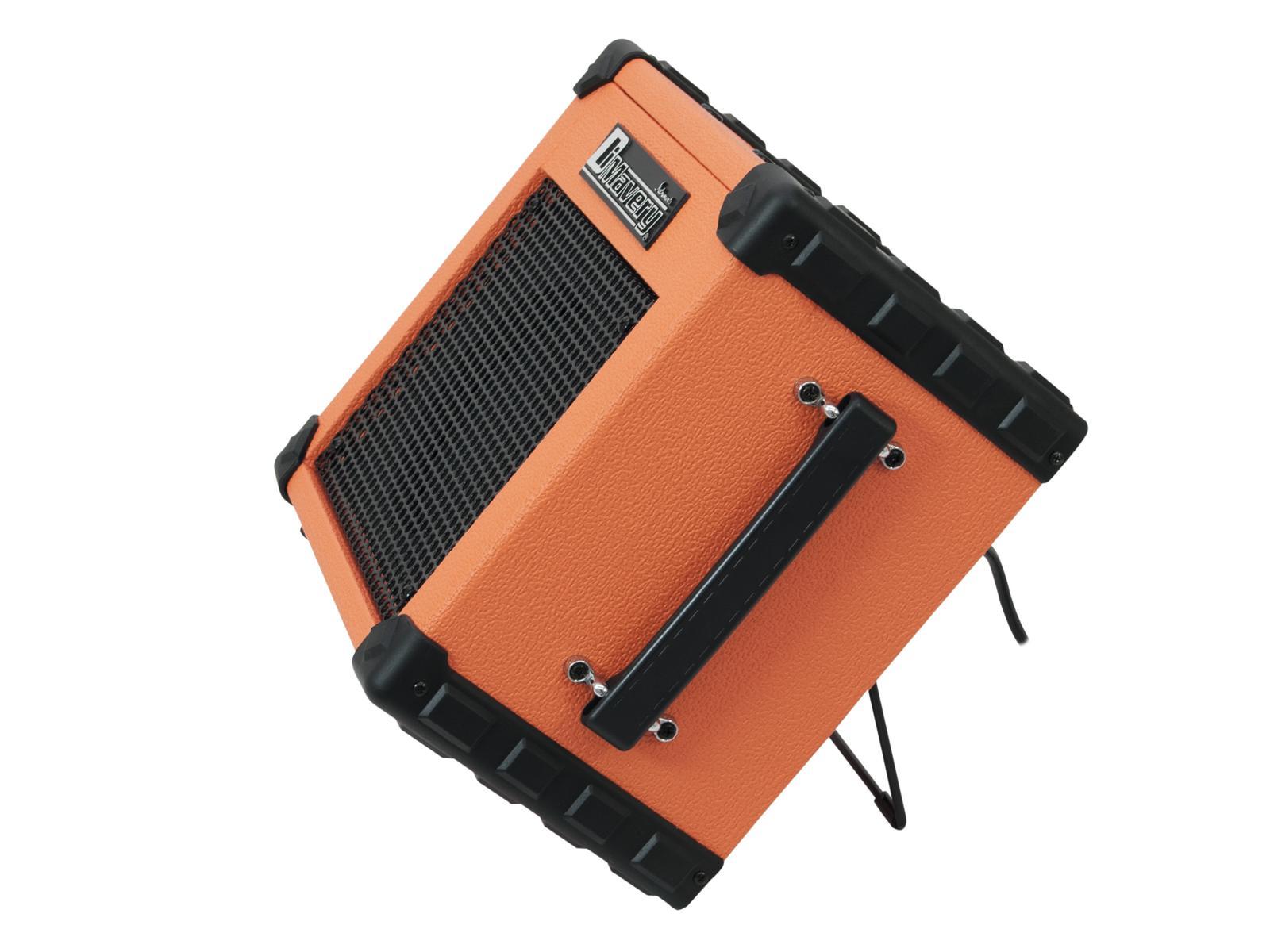 Amplificatore per chitarra arancione 20w woofer 16.5 cm 6.5 DIMAVERY Deluxe-1
