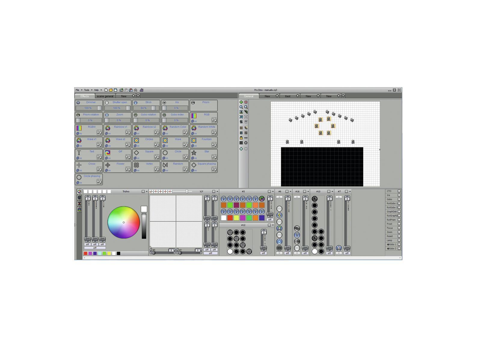 EUROLITE Pro di Controllo DMX Software 1024
