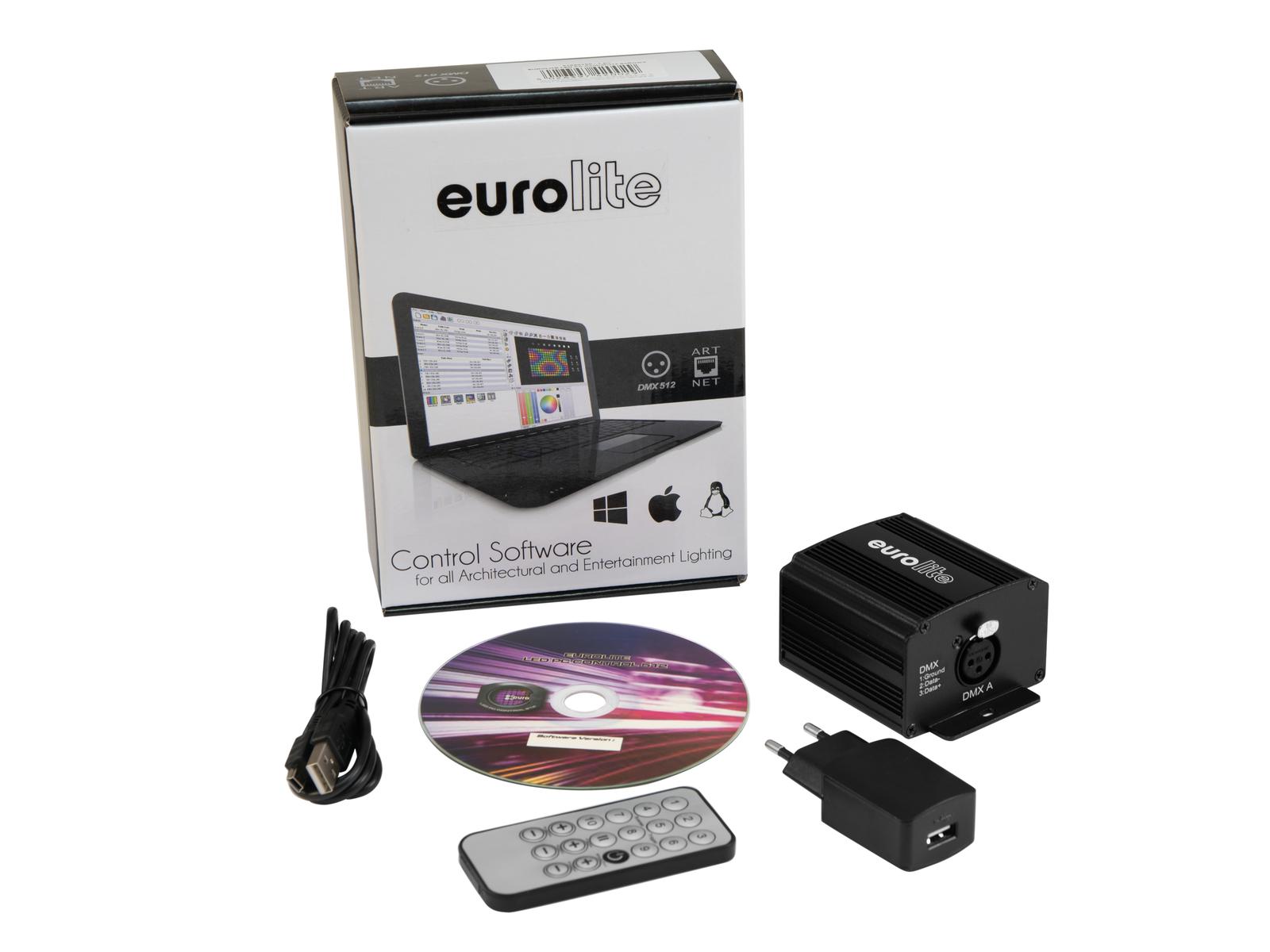 EUROLITE LED per il Controllo dei PC 512