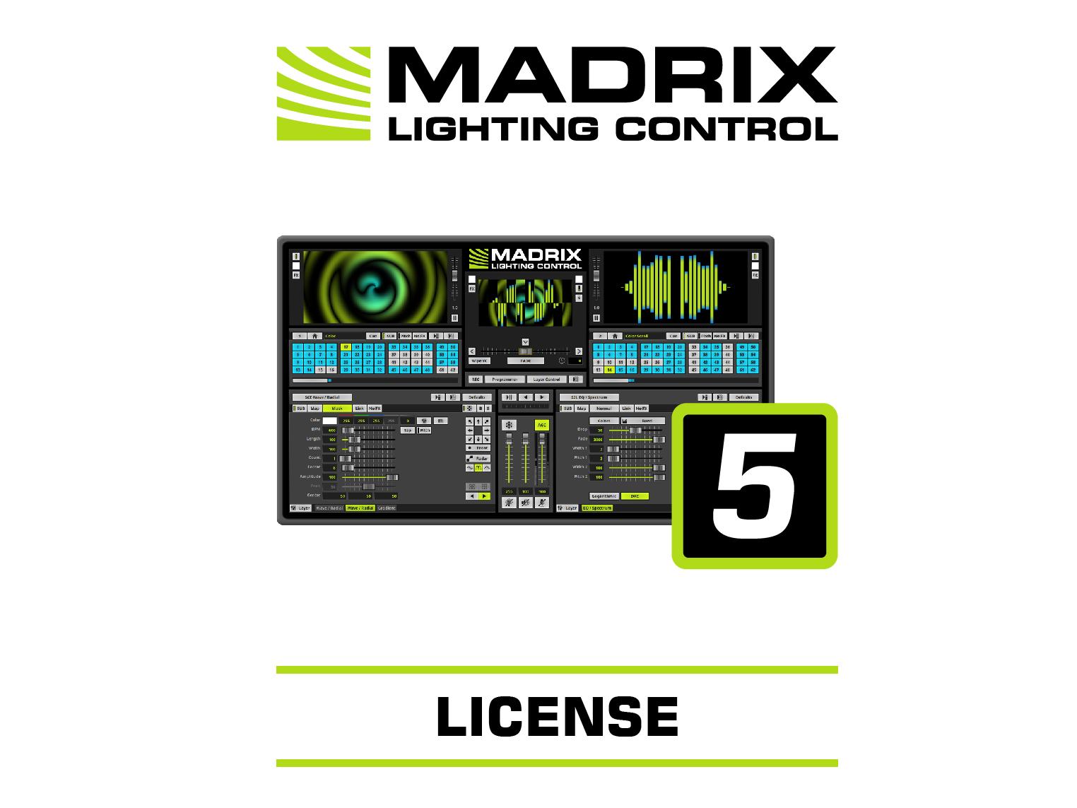 MADRIX Software 5 Licenza voce