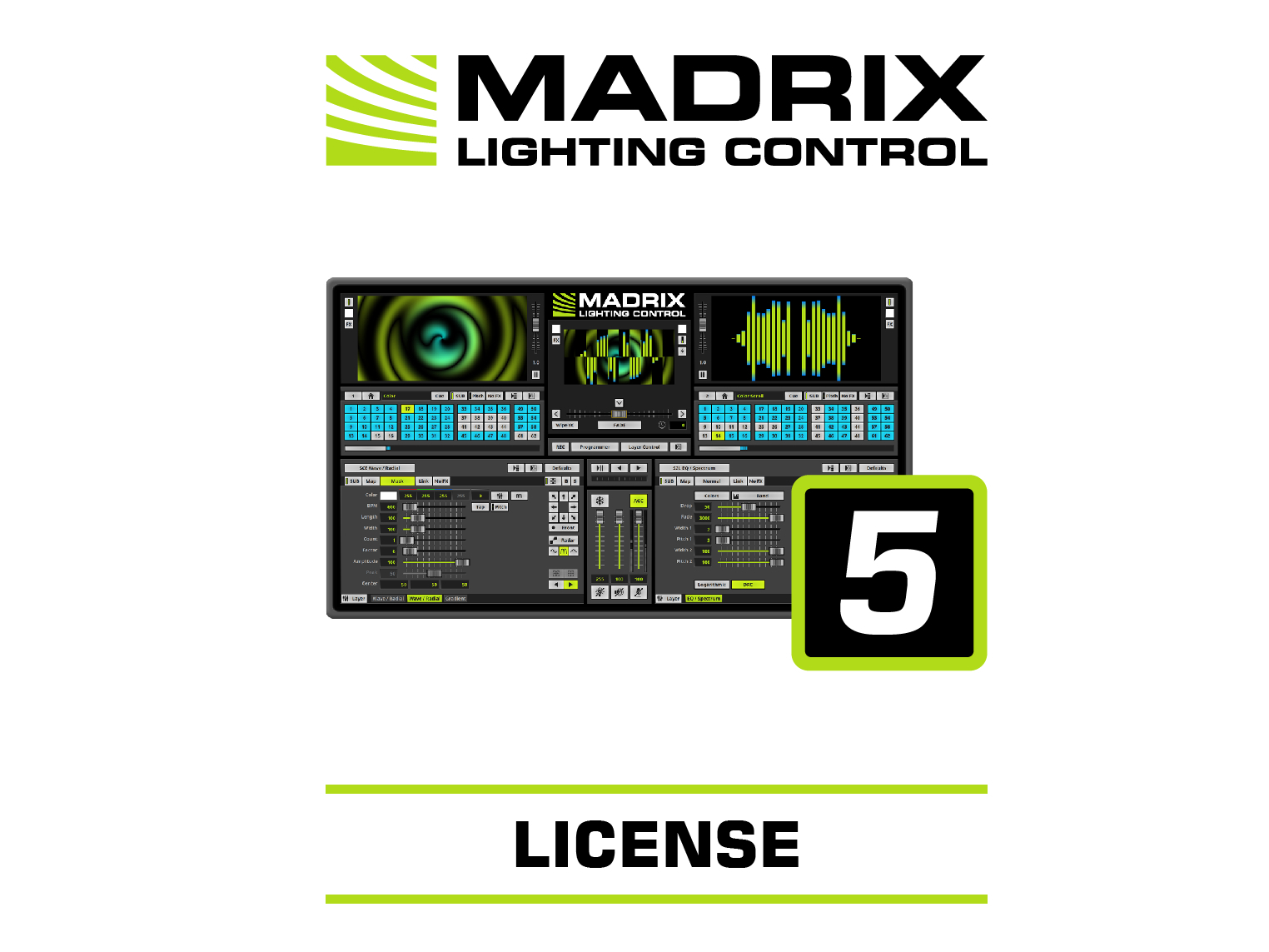 MADRIX Software 5 Lizenz maximum
