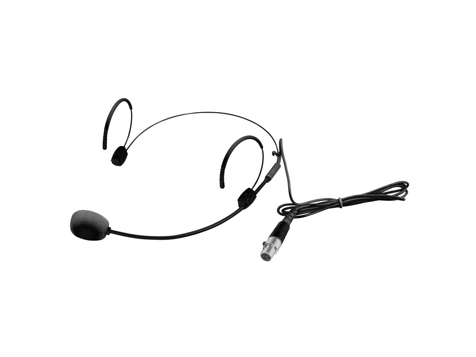 OMNITRONIC UHF-300 Kopfbügelmikrofon schwarz