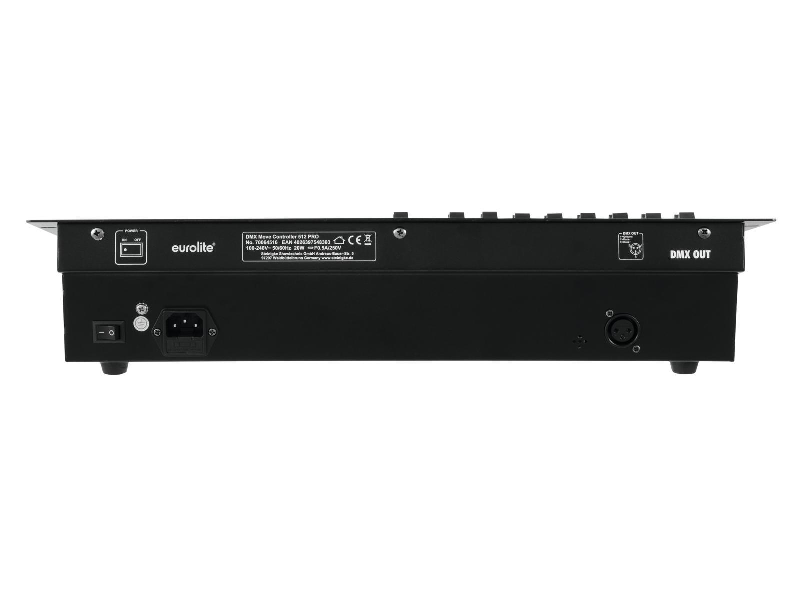 EUROLITE DMX Controller di movimento 512 PRO