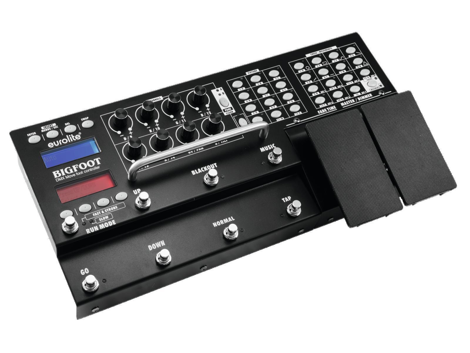 EUROLITE DMX Spostare Bigfoot foot controller 192