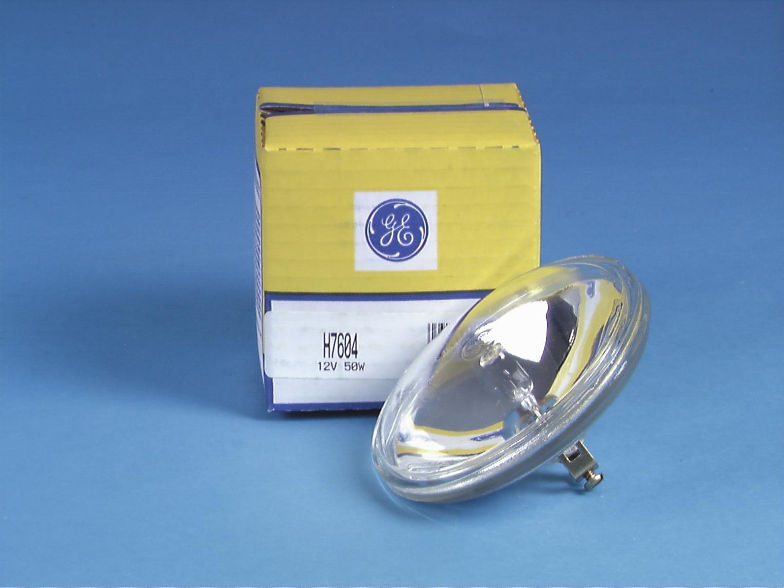 GE H7604 PAR-36 12,8 V/50W halo 100h