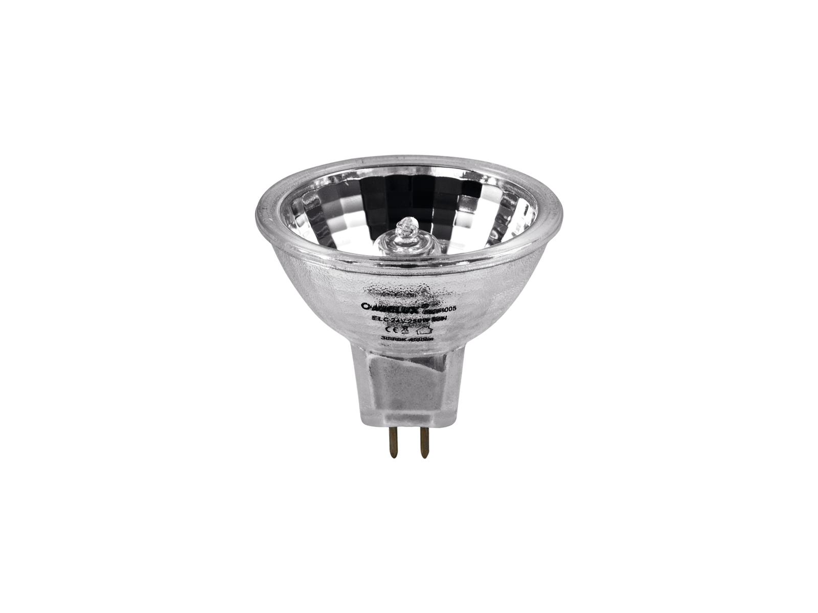 Lampada Faro Per Par Effetti Luce OMNILUX ELC 24V/250W GX 5.3 500h 50mm