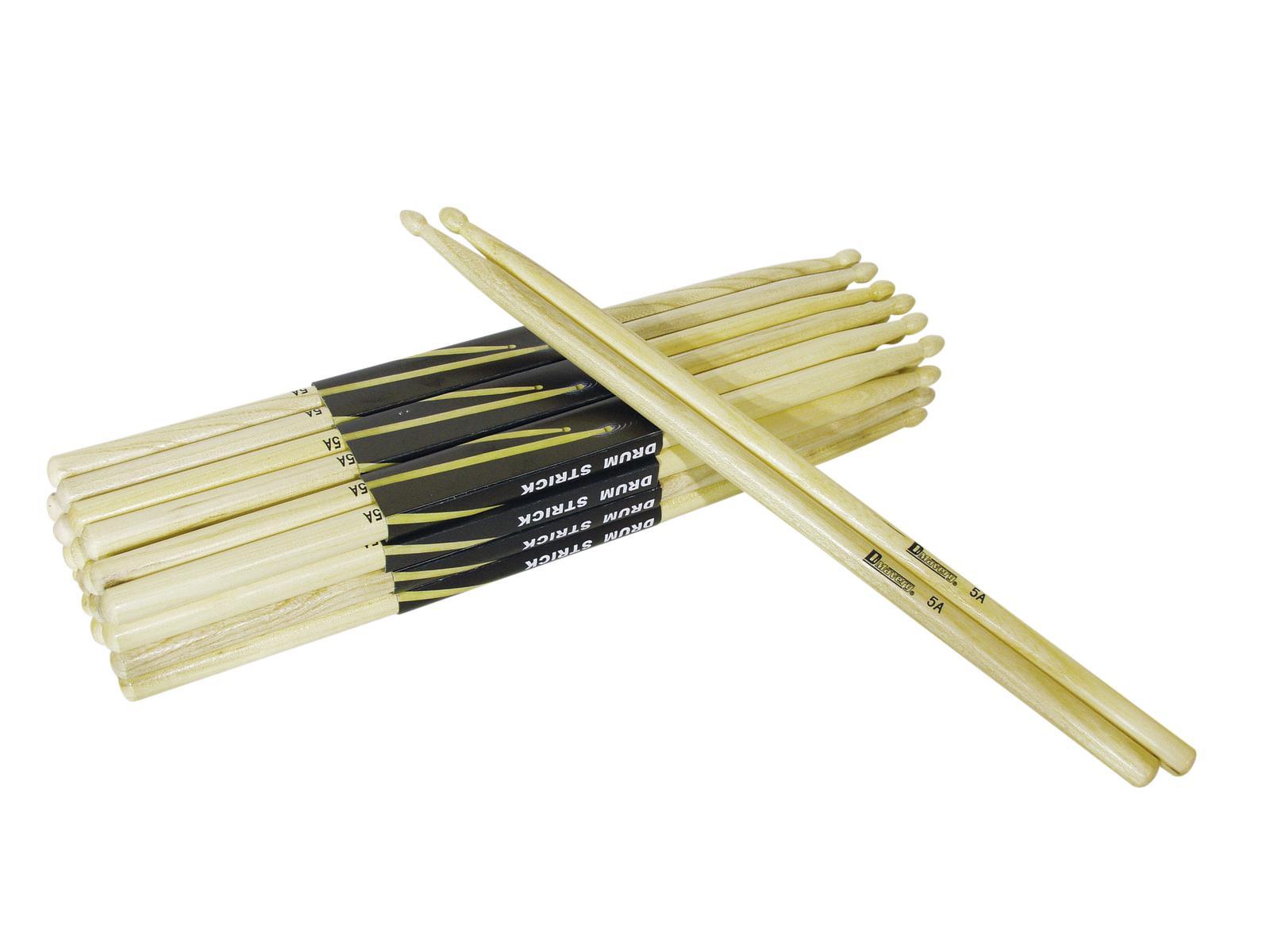 Coppia di bacchette per batteria in Acero 5A color legno Dimavery DDS-5A