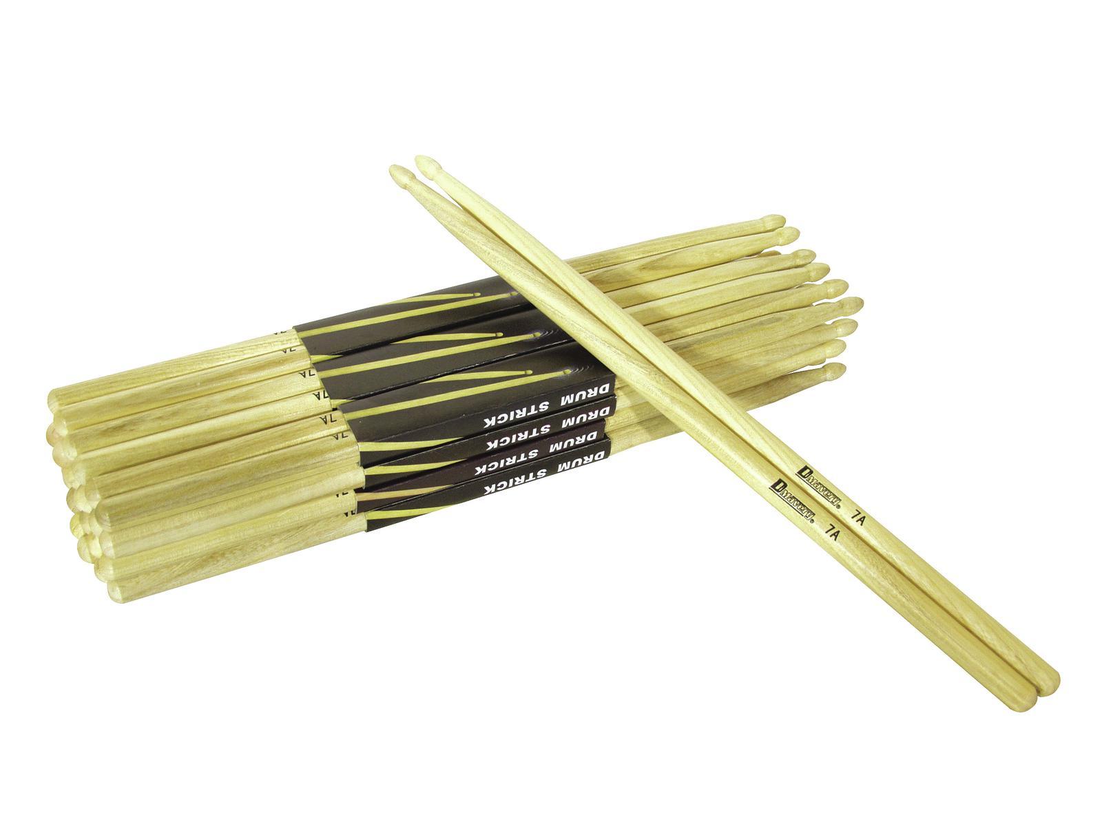 DIMAVERY DDS-7A Drumsticks, Eiche