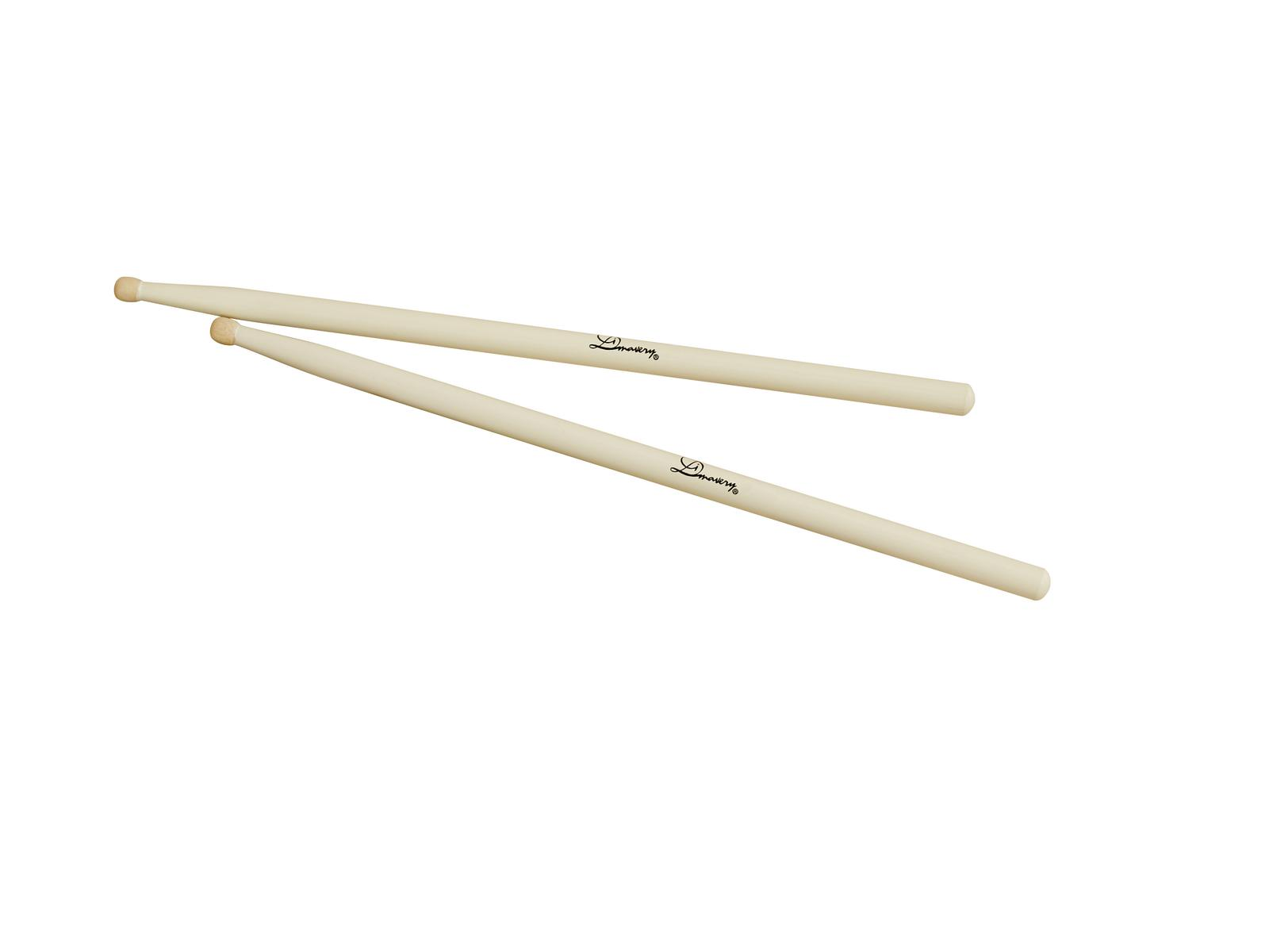 DIMAVERY DDS-Marchingsticks, acero, bianco