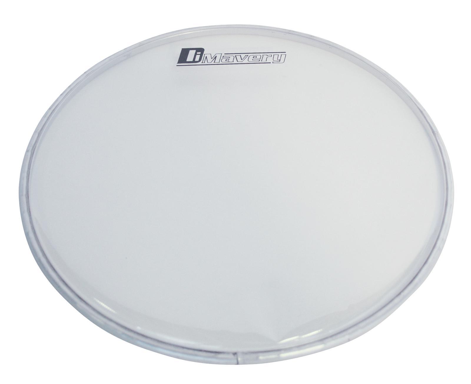 Pelle per batteria acustica tamburo powerring Drumhead Dimavery DH-13 Chiara
