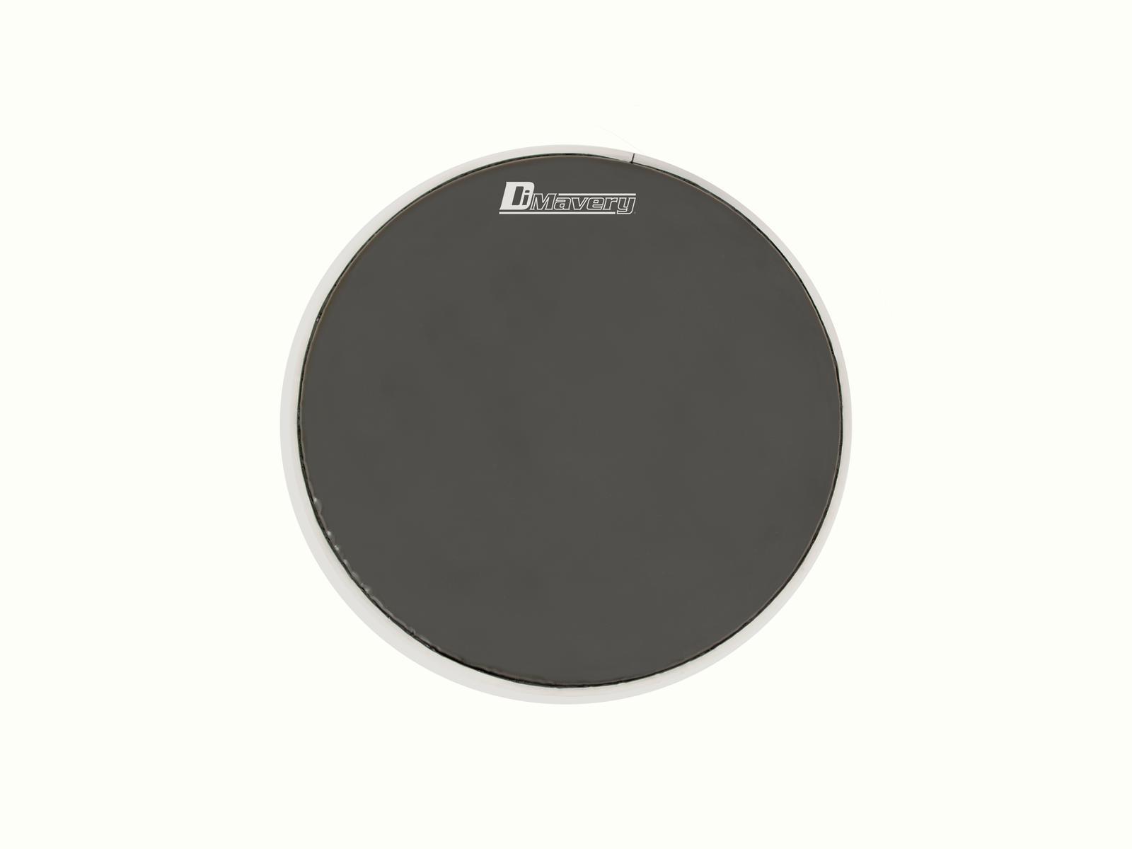 Pelle per batteria acustica tamburo powerring Drumhead Dimavery DH-13 Nera