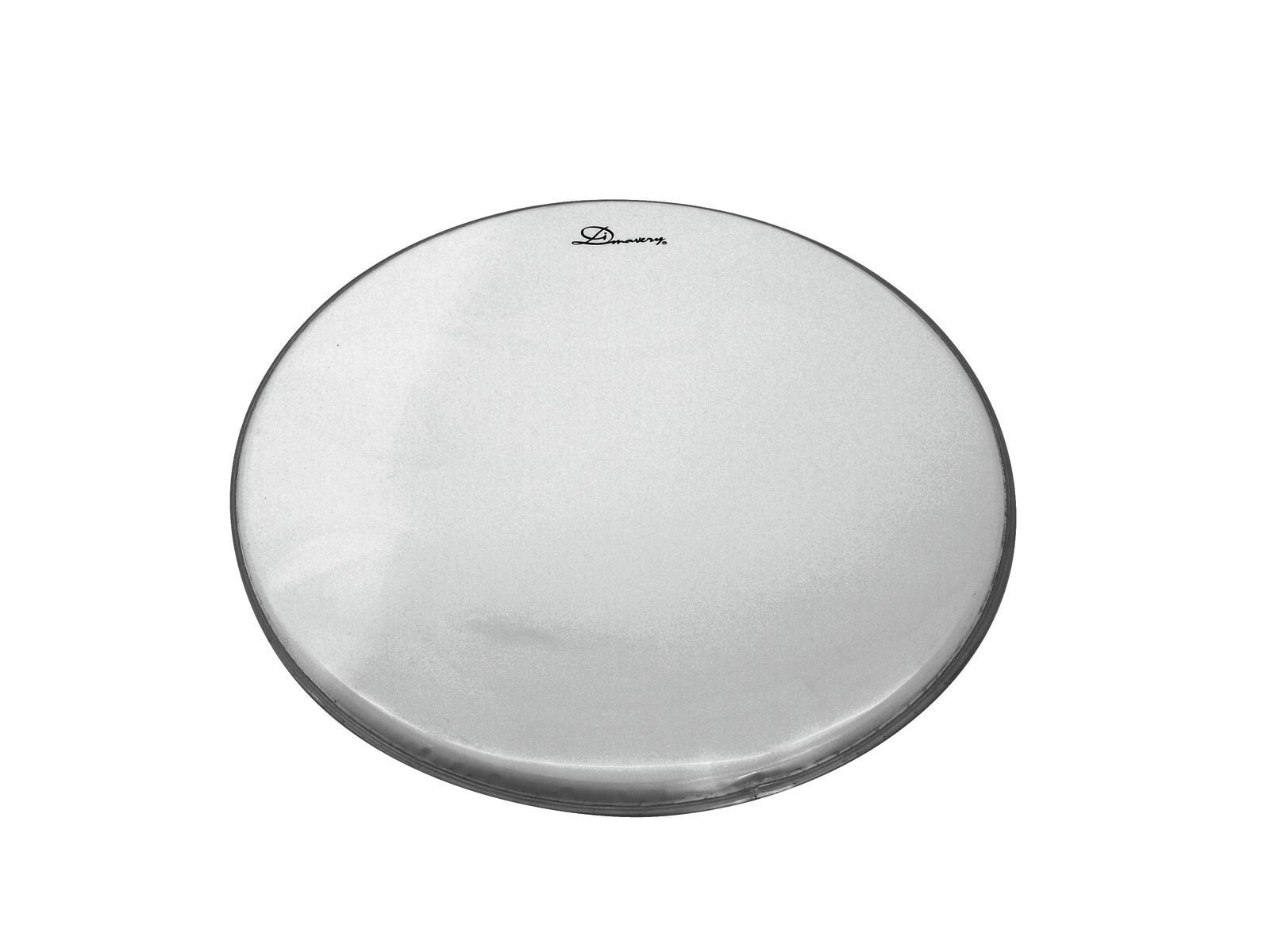 Pelle per batteria acustica tamburo Dimavery DH-14 Bianca Rivestita