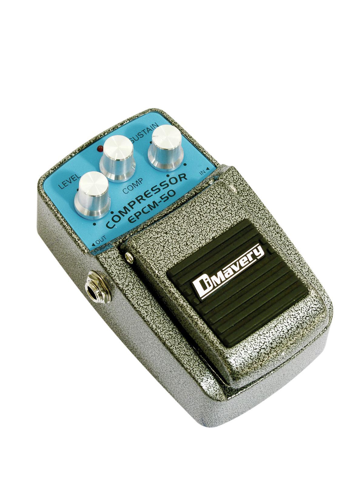 Effetto pedale compressore per chitarra e basso DIMAVERY EPCM-50