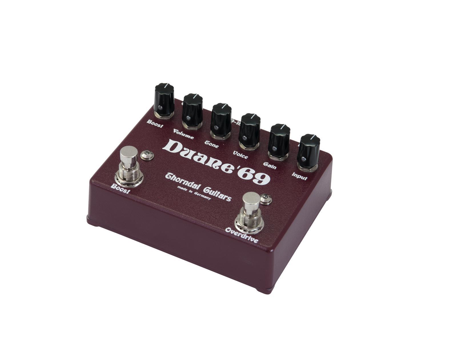 Effetto pedale Tuner per chitarra e basso Overdrive Boost THORNDAL Duane 69