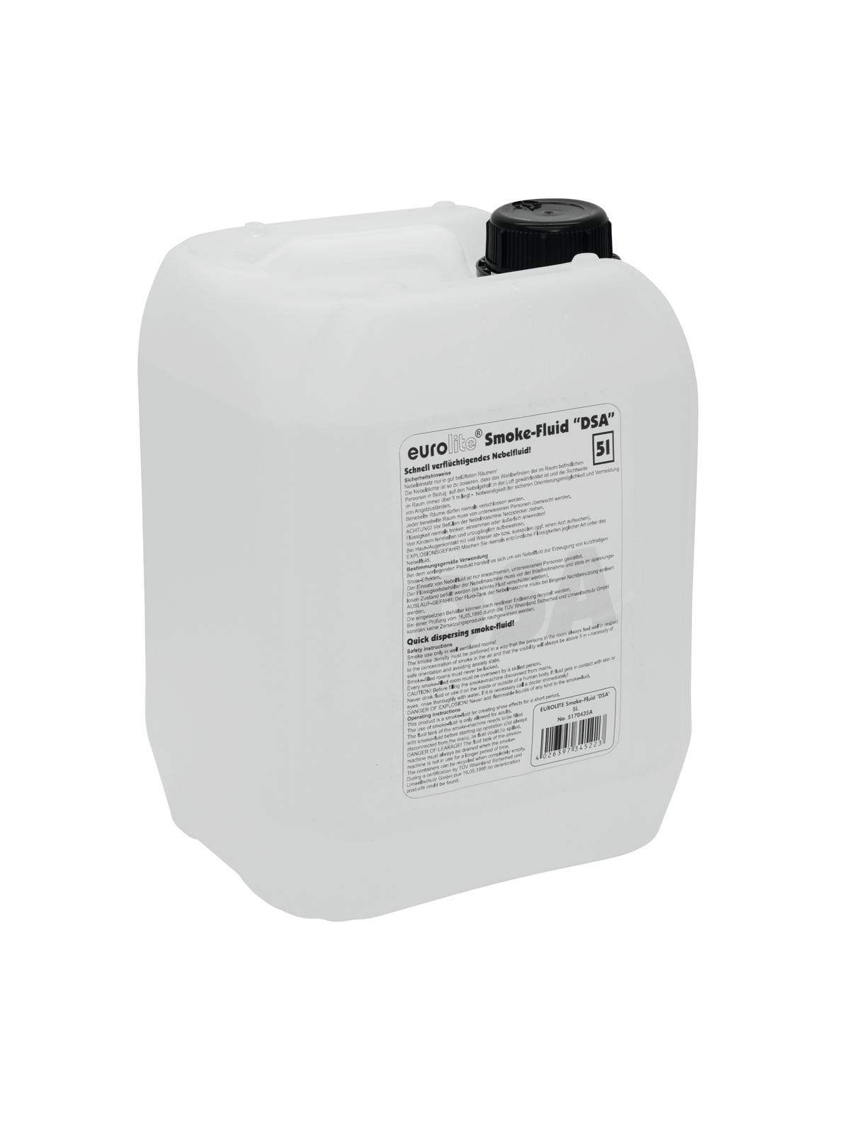 Liquido per macchina del fumo, 5 litri, EUROLITE