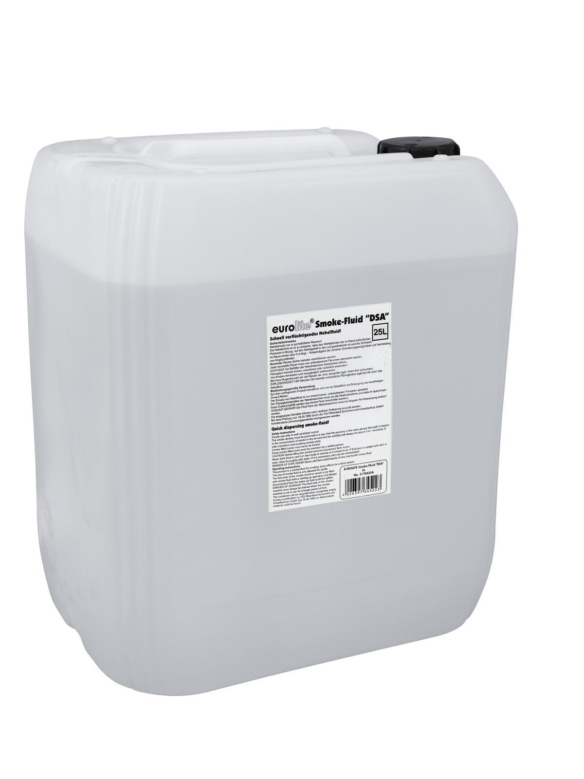 Liquido Tanica per macchina del fumo nebbia 25 litri EUROLITE DSA