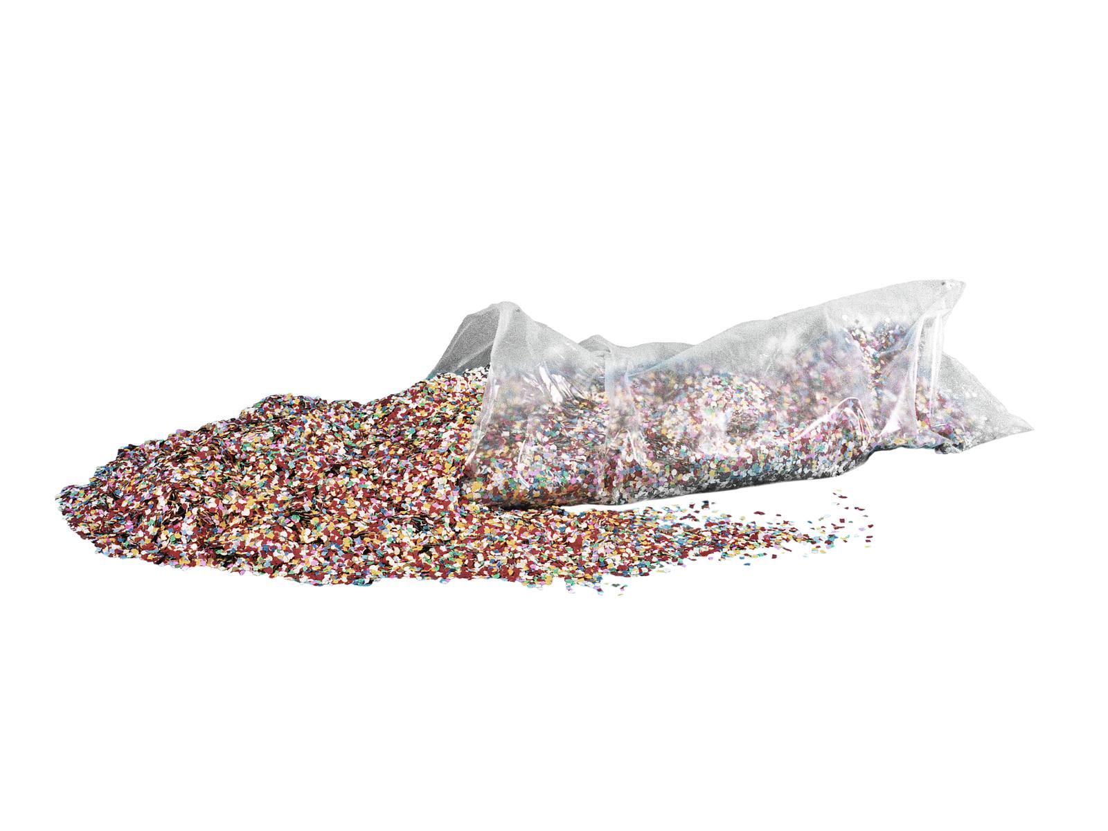 Coriandoli Per Feste Party Vari Colori 7mm Confezione da 10kg