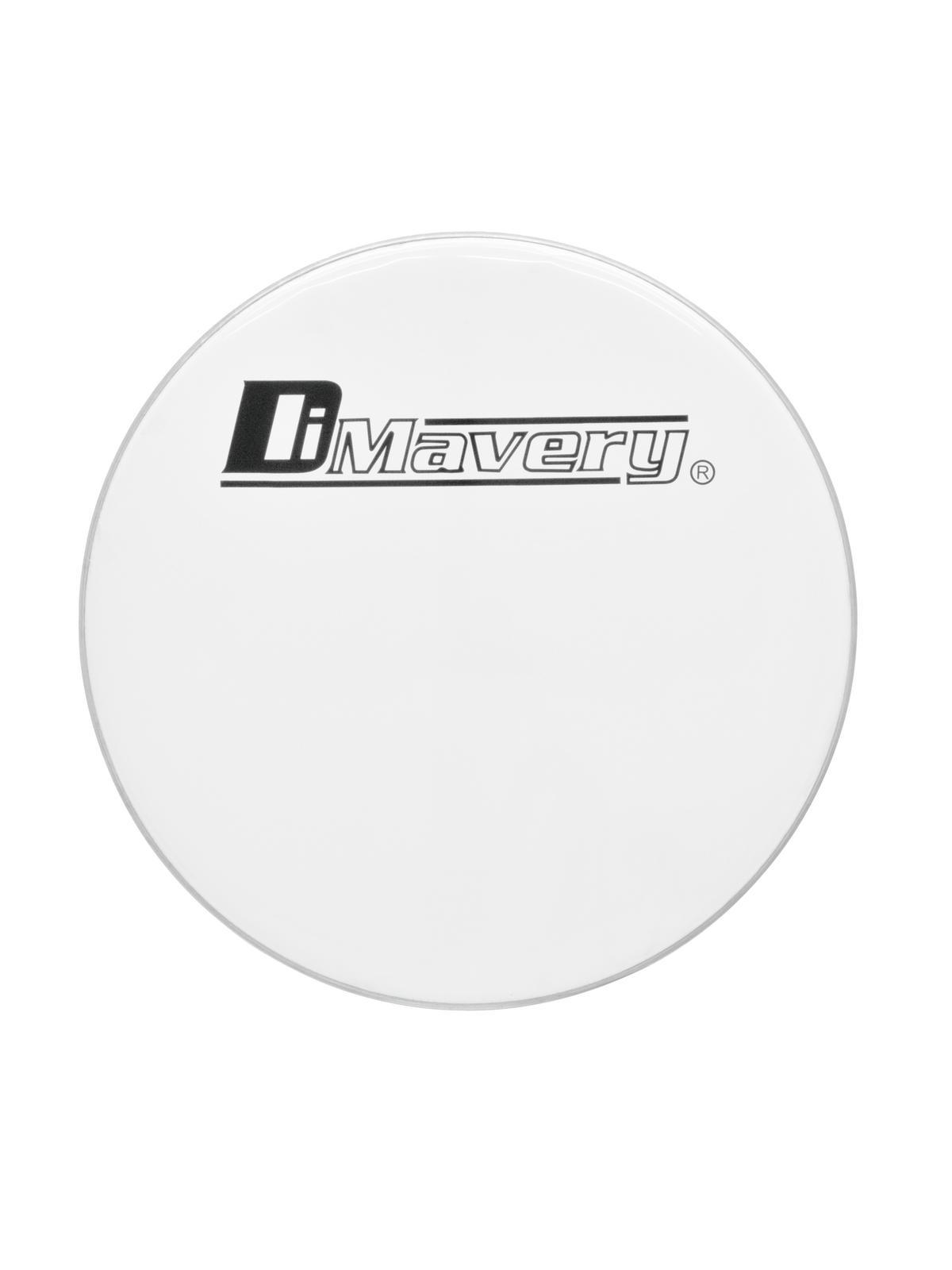 Pelle per batteria acustica tamburo, bianca, DIMAVERY DH-24