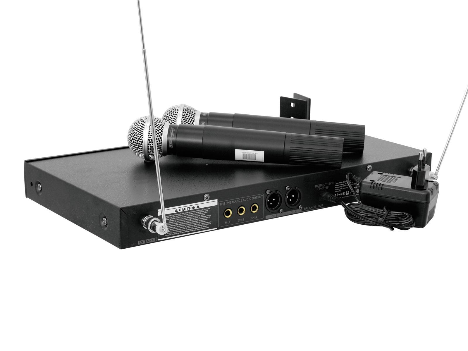 OMNITRONIC VHF-450 Funkmikrofon-System