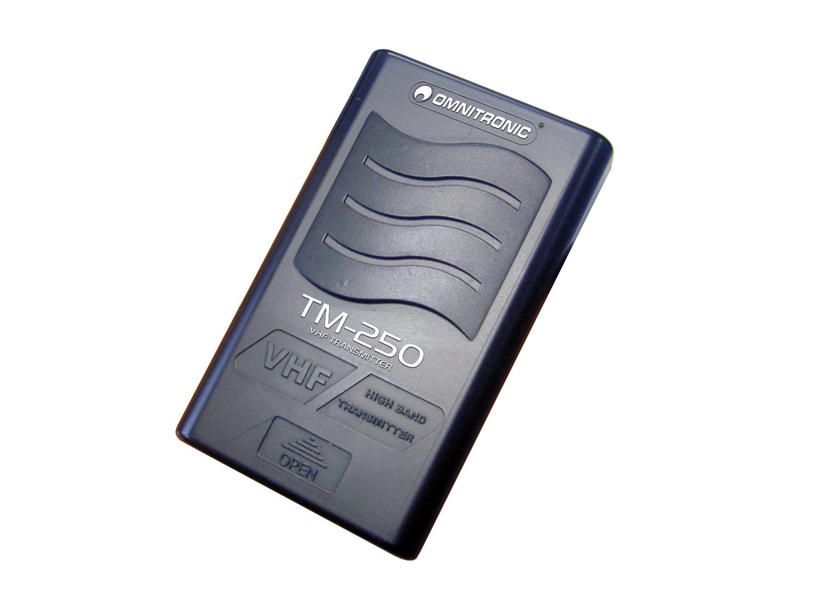 OMNITRONIC TM-250 Gürtelsender VHF211.700