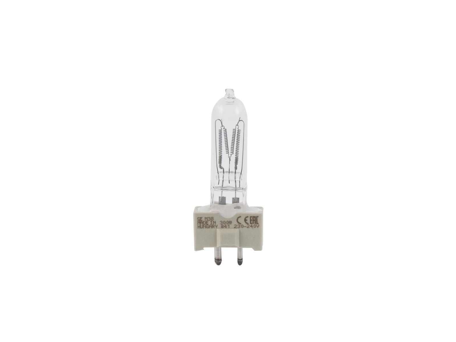 GE CP81 FSK 240V/300W GY-9,5 150h 3200K