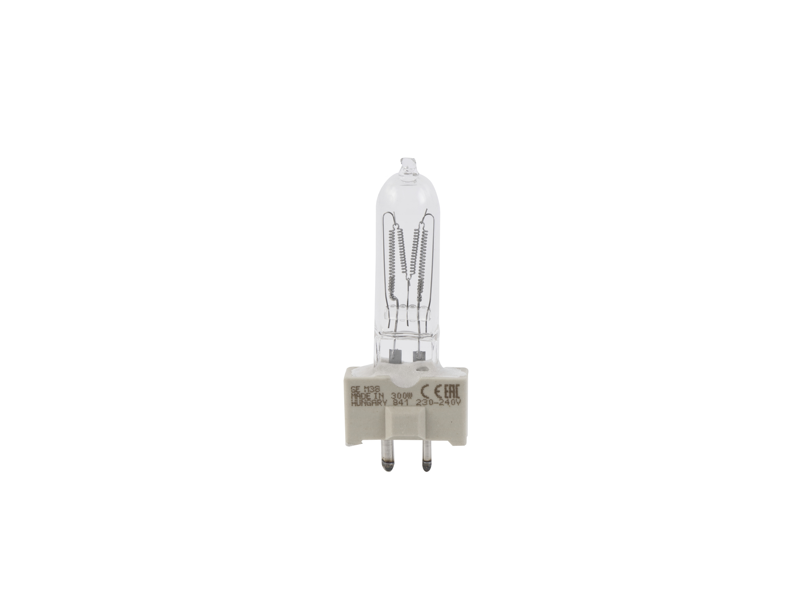 Lampada Lampadina GE M38/240V 300W Attacco GY-9.5 2000h