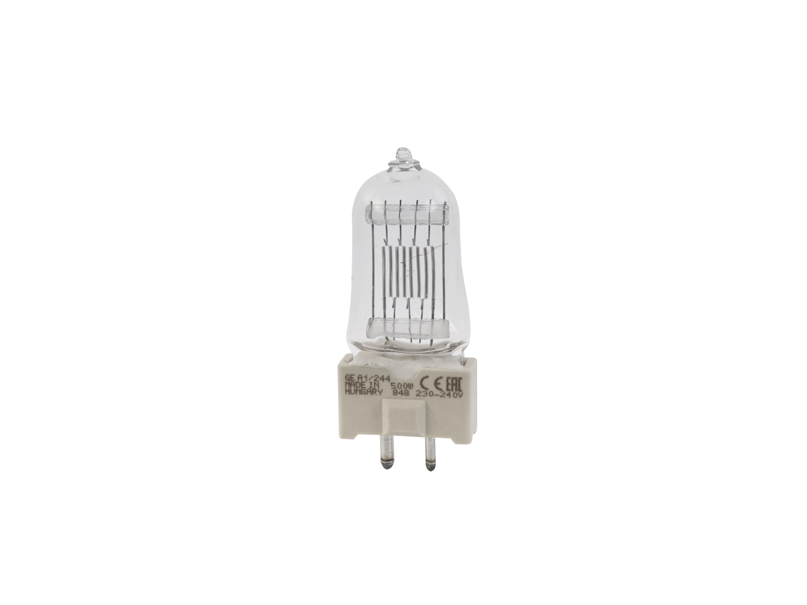 GE A1/244/240V 500W GY-9.5 75h