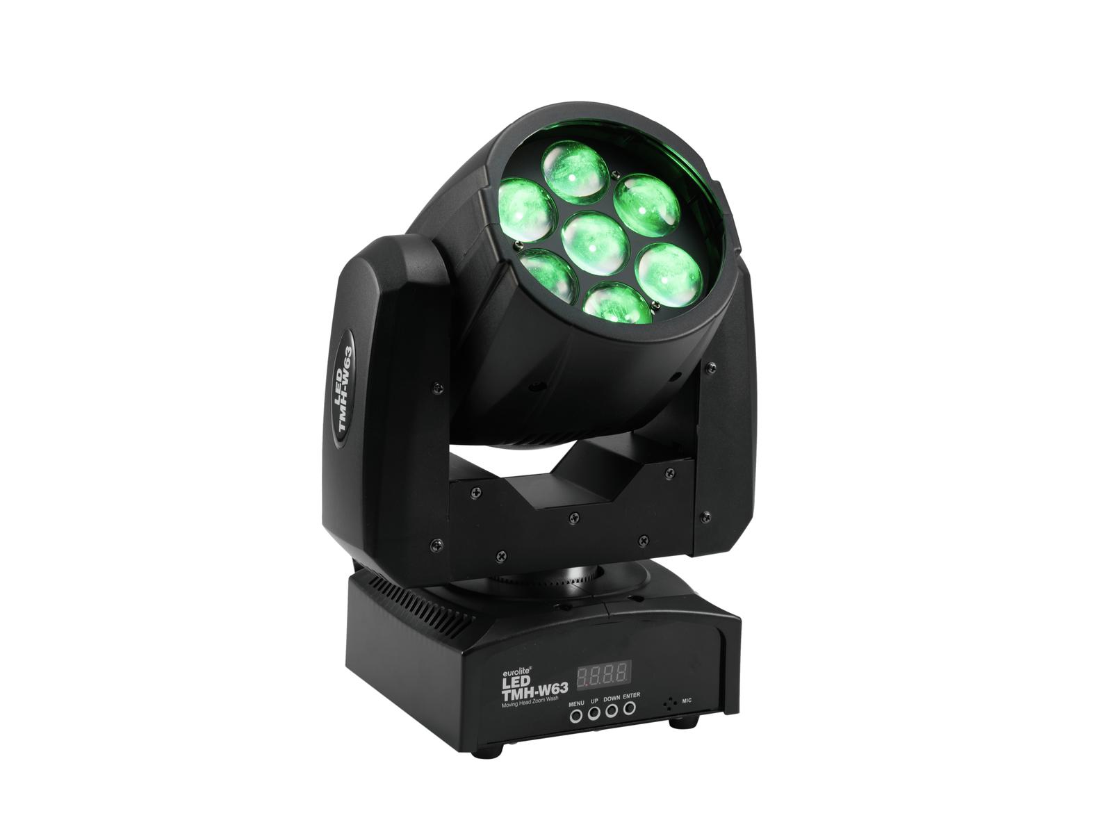 EUROLITE LED TMH-W63 Moving-Head Zoom Wash