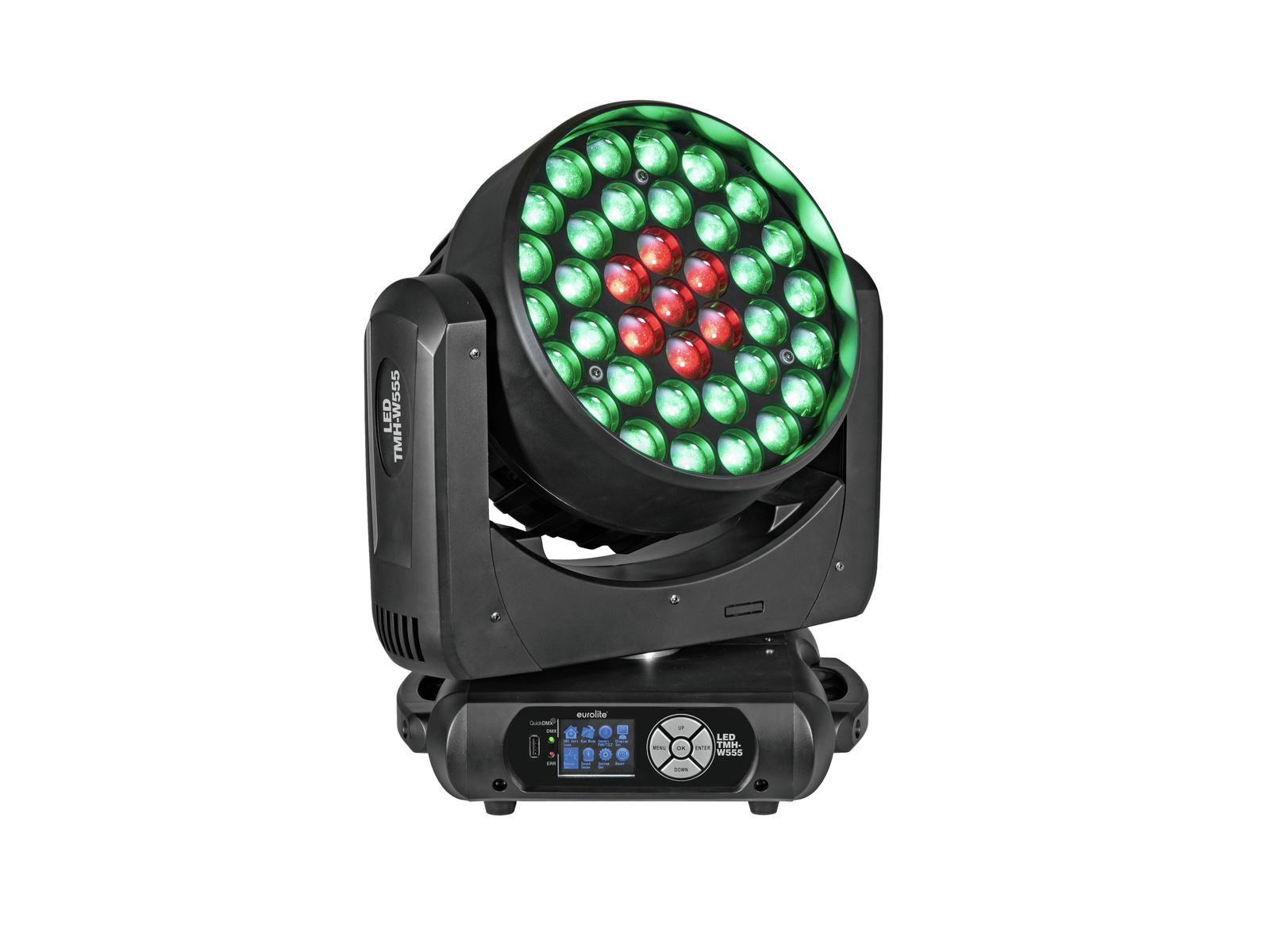 EUROLITE LED TMH-W555 Moving-Head Wash Zoom