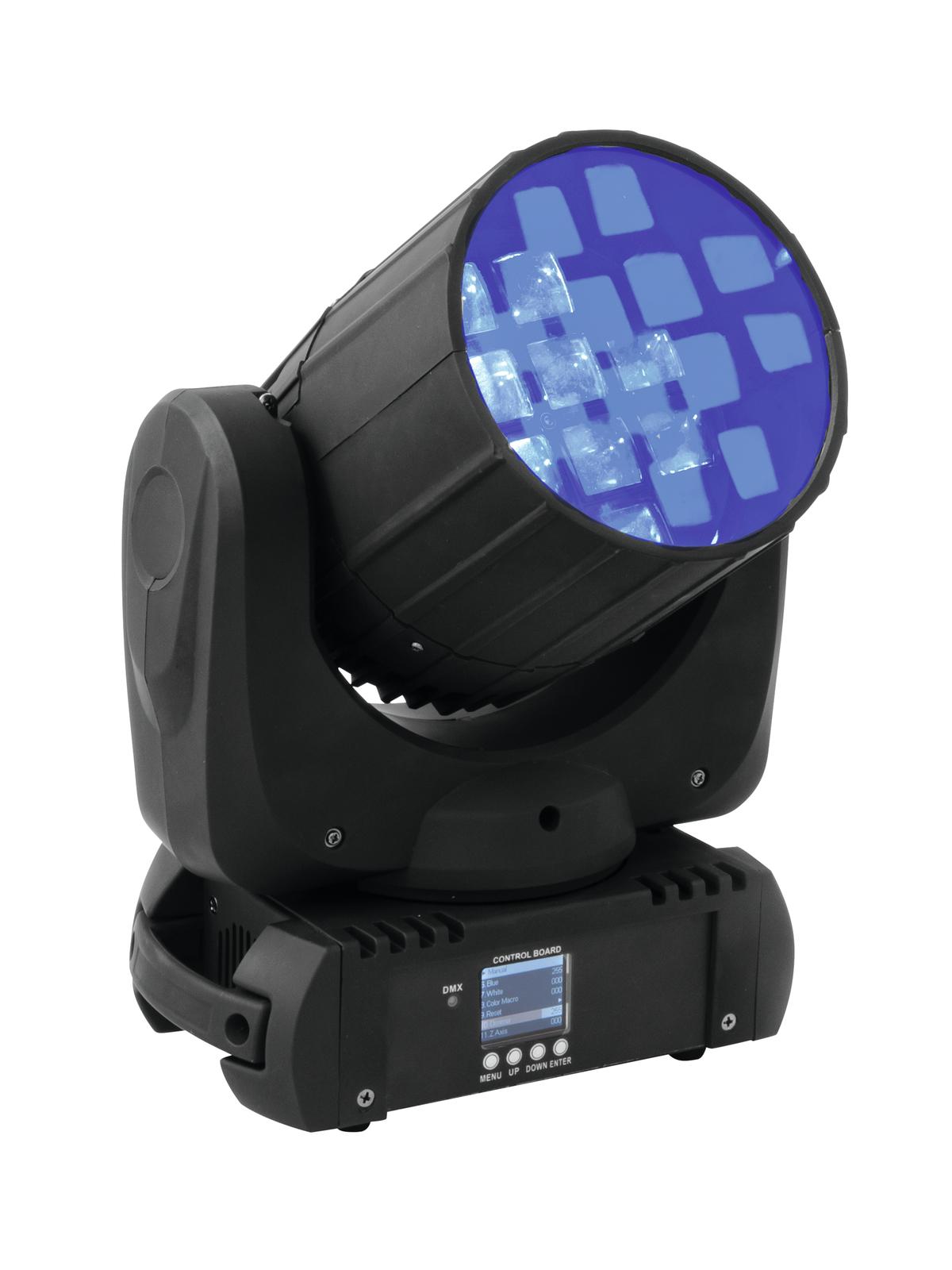 Effetto luce Light testa mobile Moving Head DMX 512 Flower Eurolite TMH FE-1200