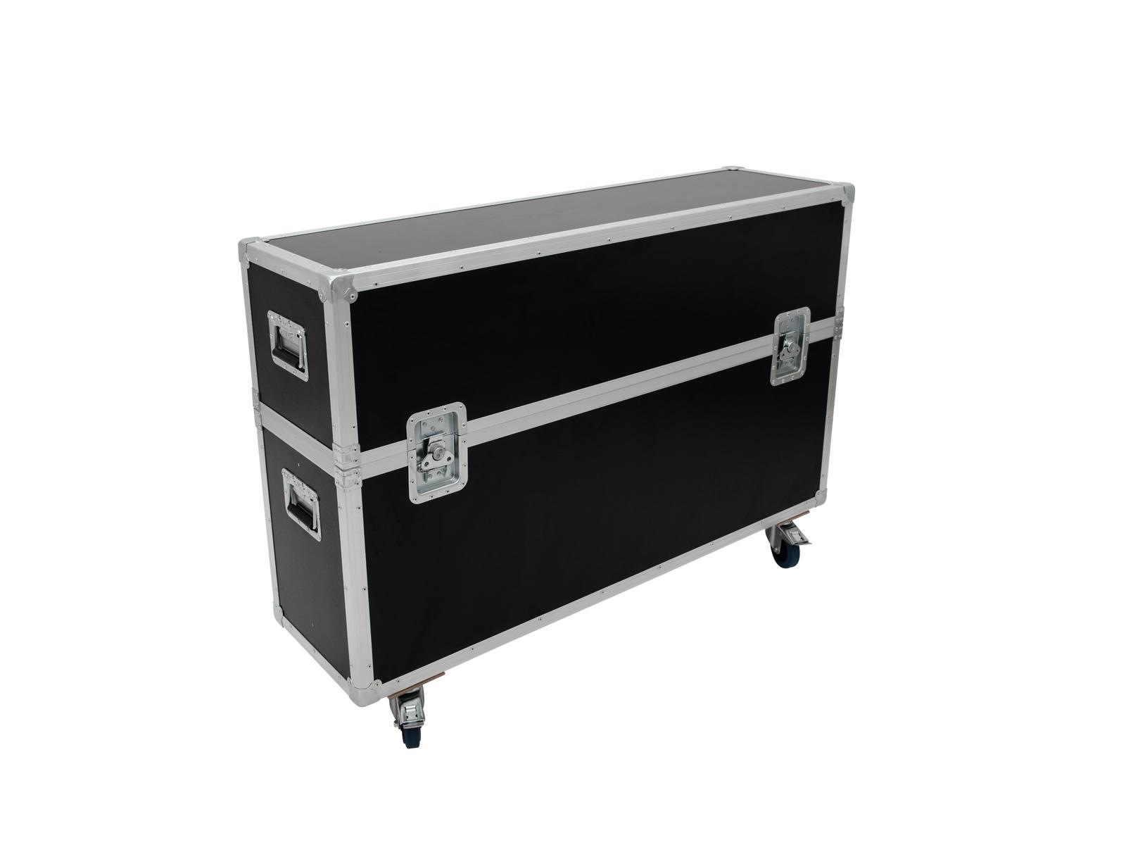 ROADINGER Flightcase 2x LCD ZL50