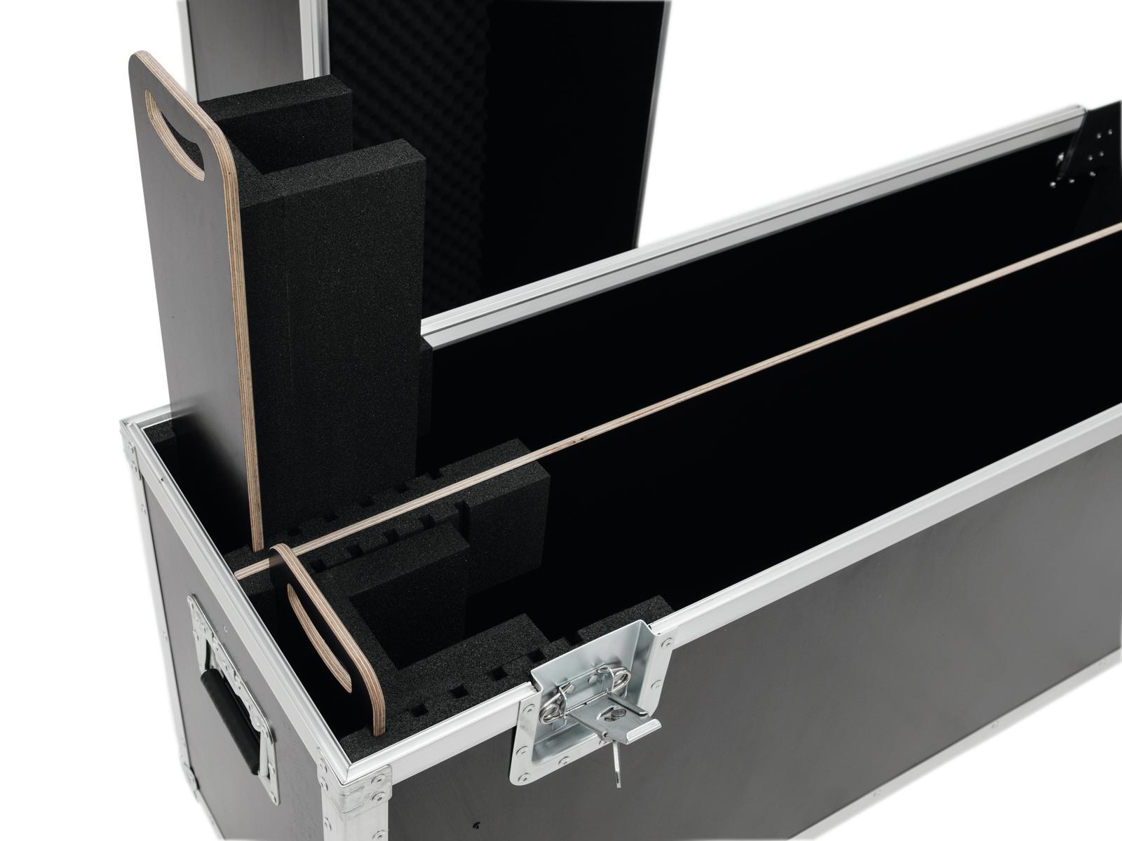 ROADINGER Flightcase 2x LCD ZL