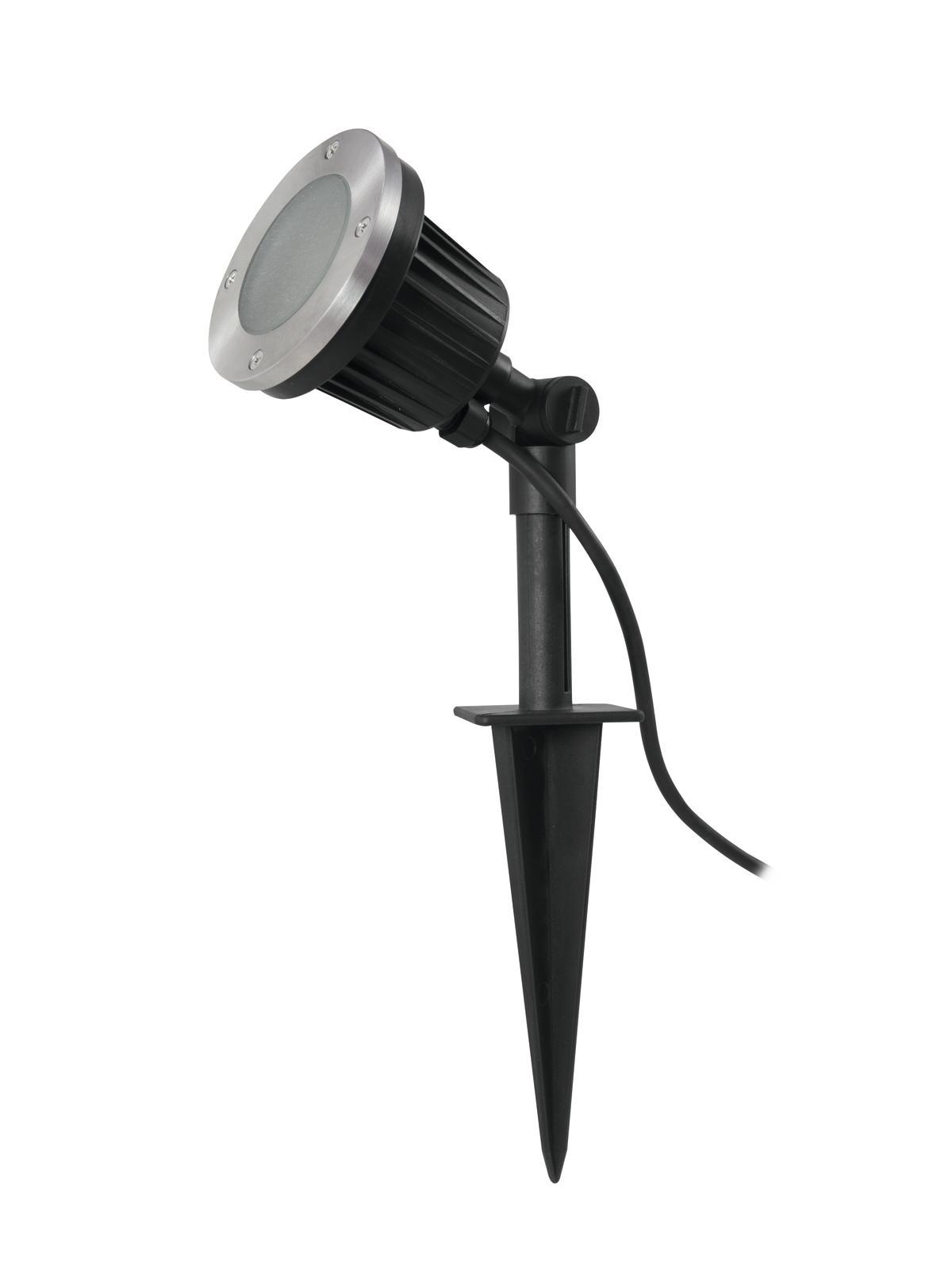 EUROLITE LED IP Spot orizzontale con palo 6400K 4,2 W