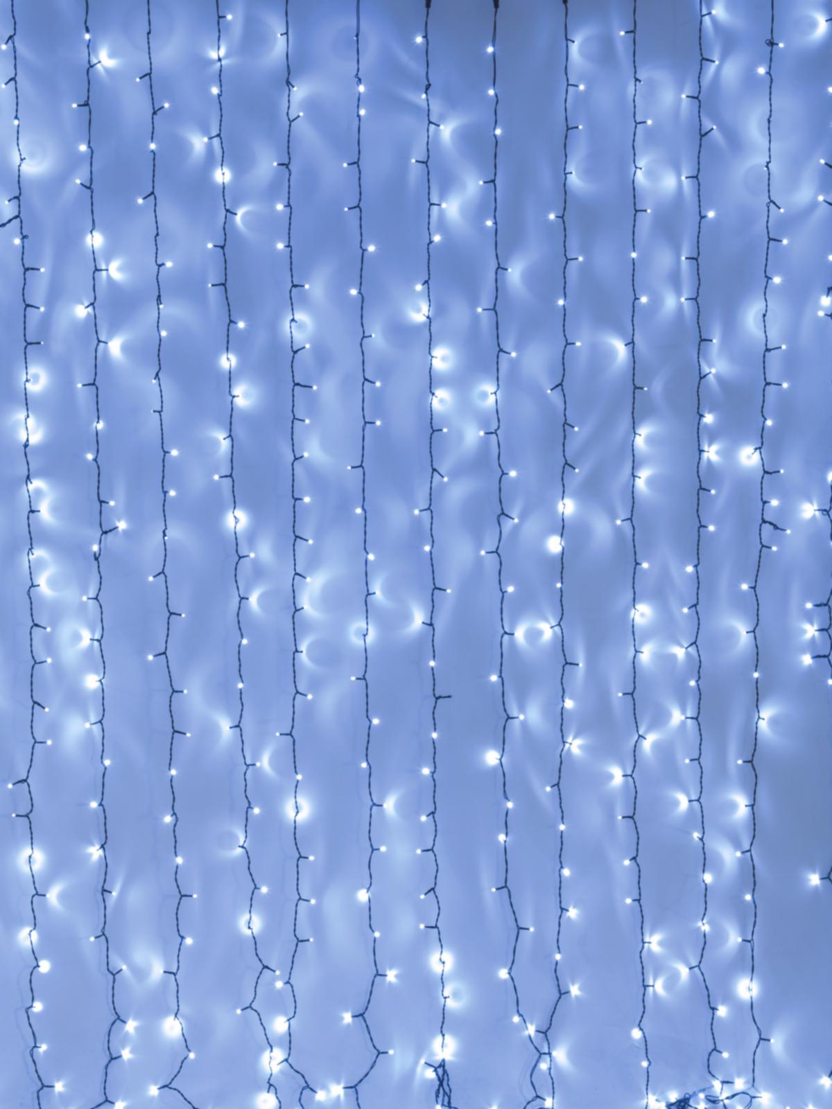 EUROLITE LED della tenda di luce 925 x Led blu