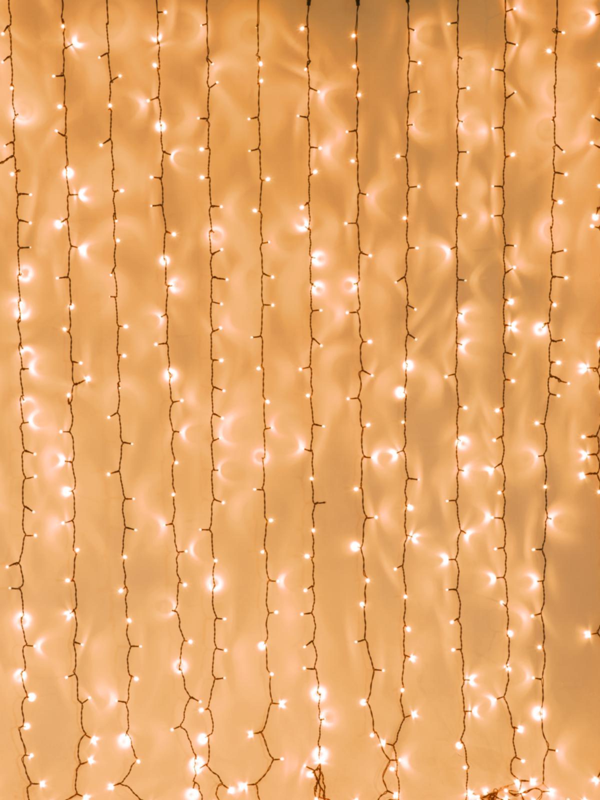 EUROLITE LED della tenda di luce 925 x Led ambra