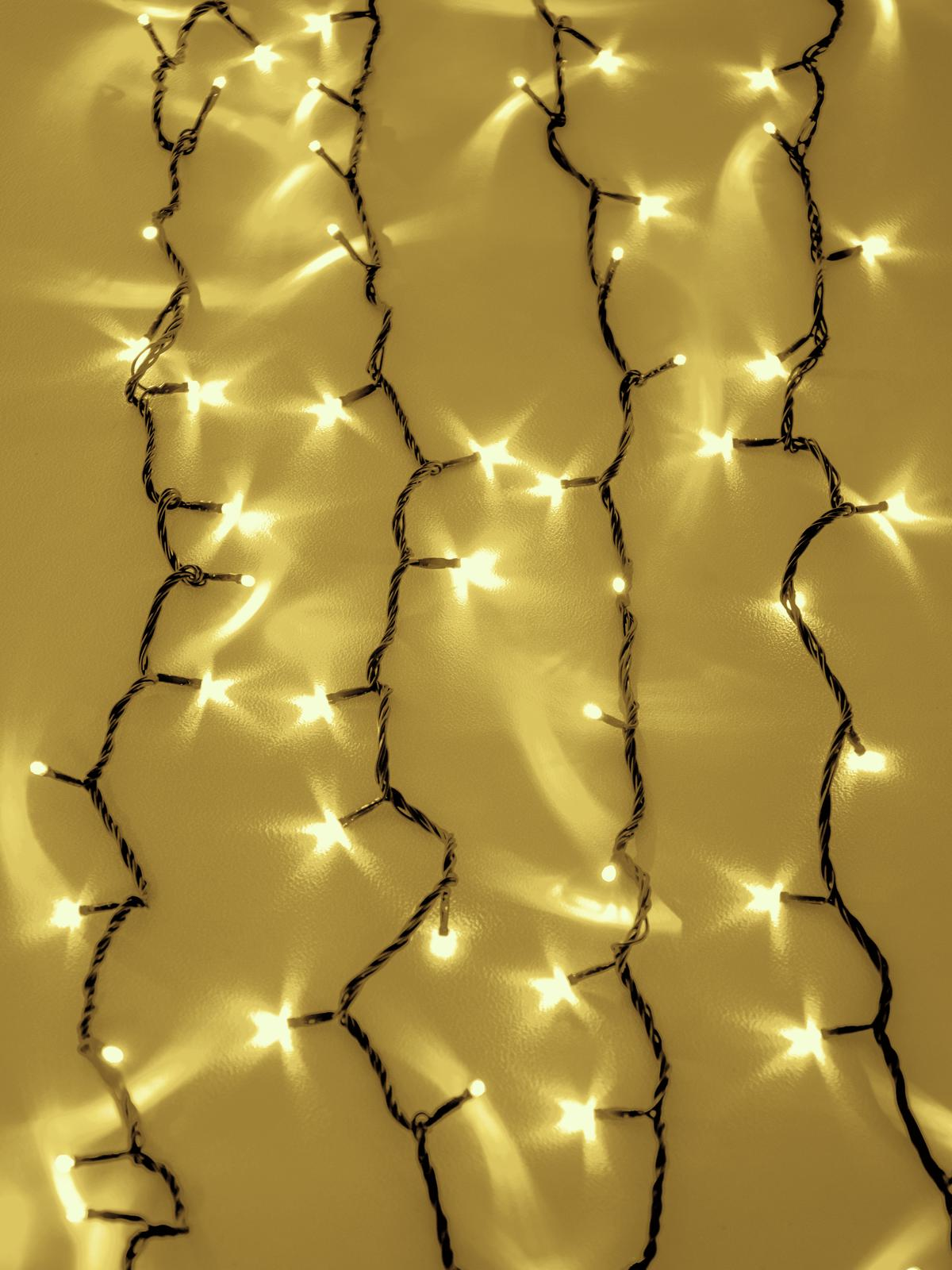 EUROLITE LED cascata di luce 2400 Led ambra