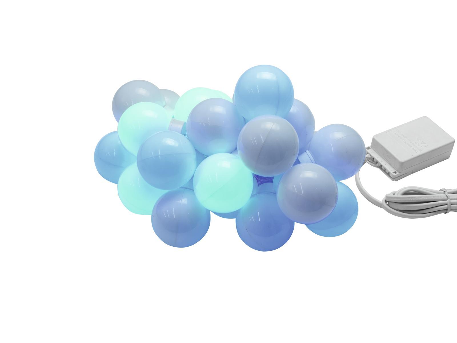 EUROLITE LED party palle catena leggera